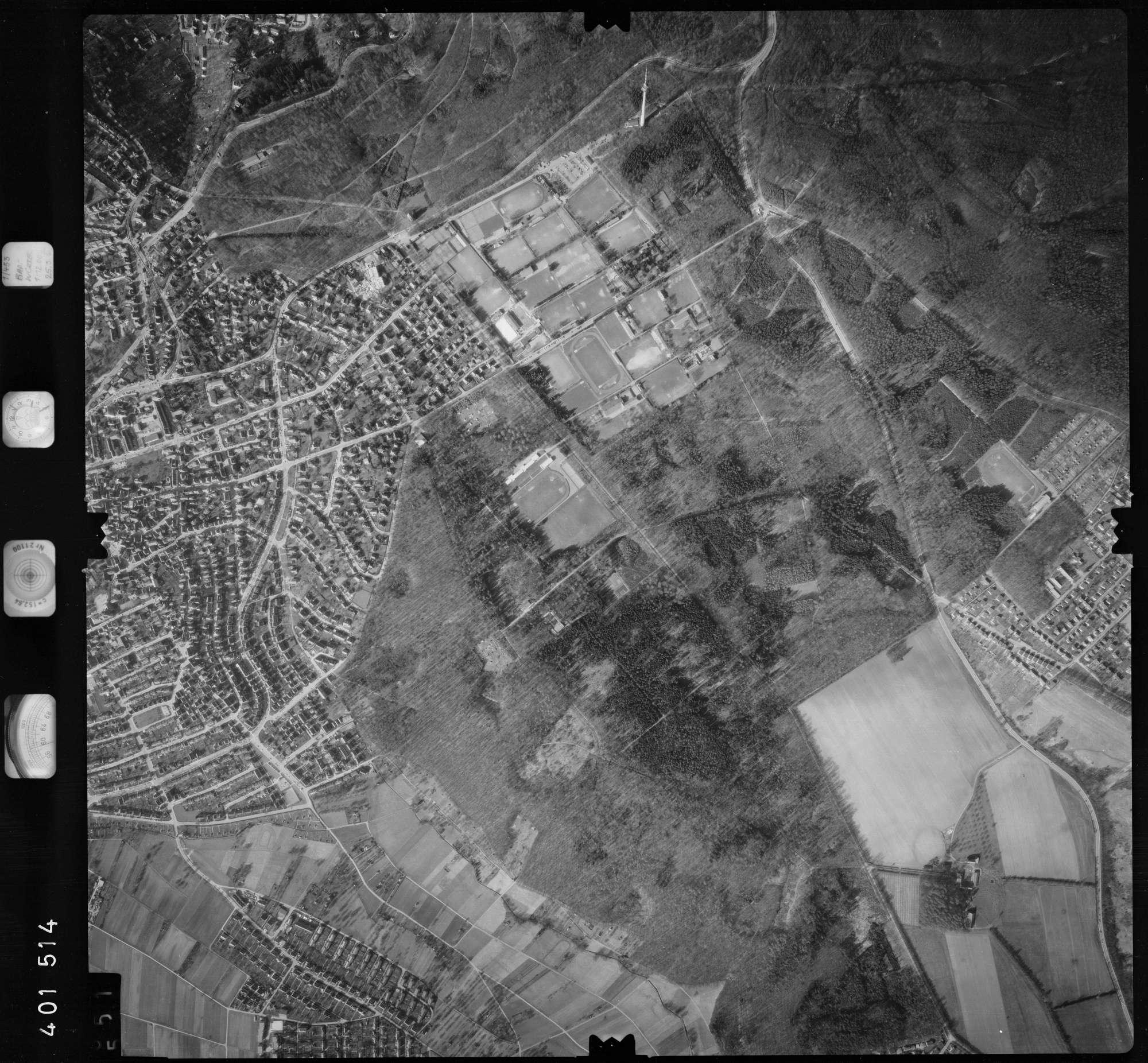 Luftbild: Film 23 Bildnr. 551, Bild 1
