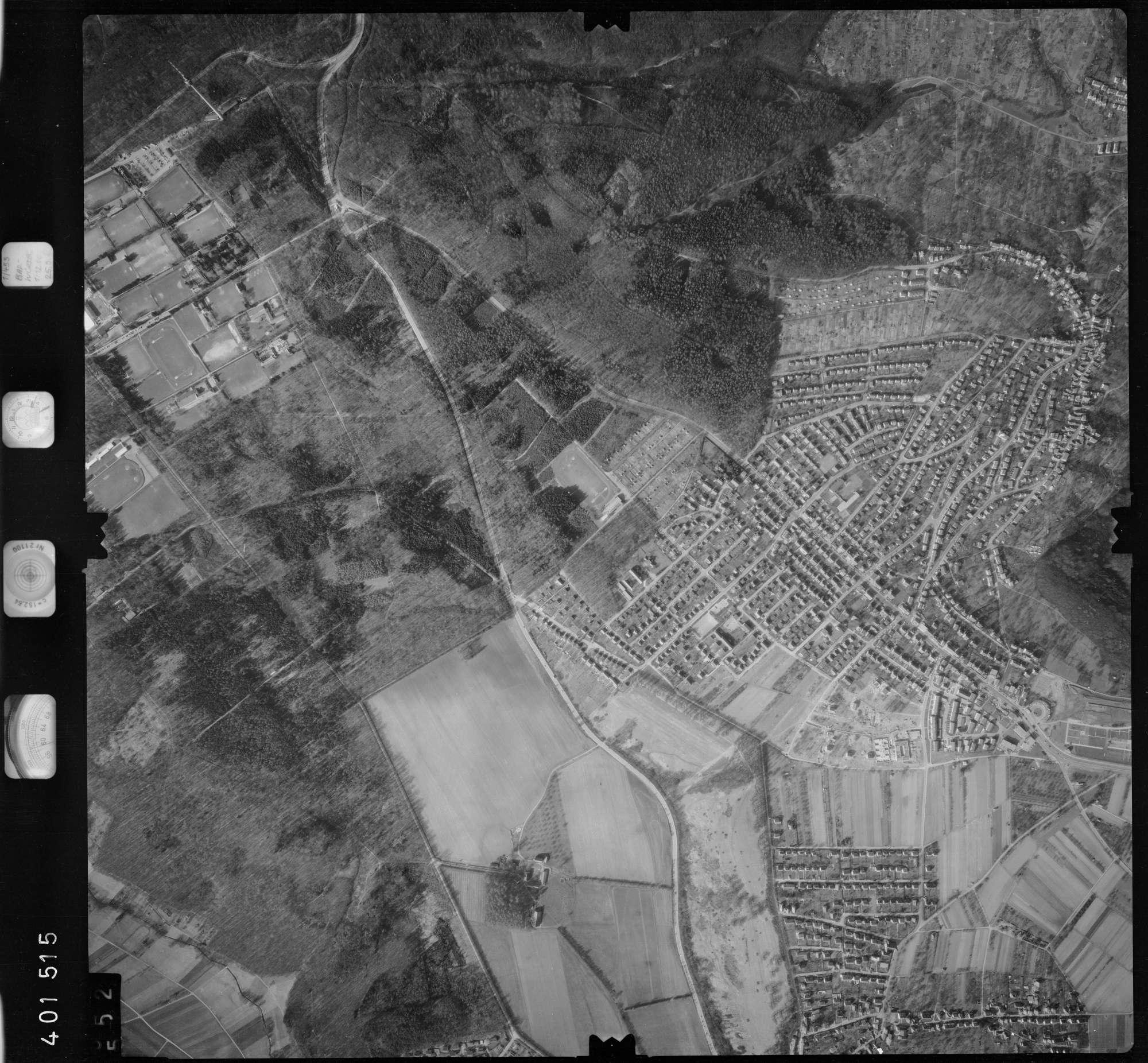 Luftbild: Film 23 Bildnr. 552, Bild 1