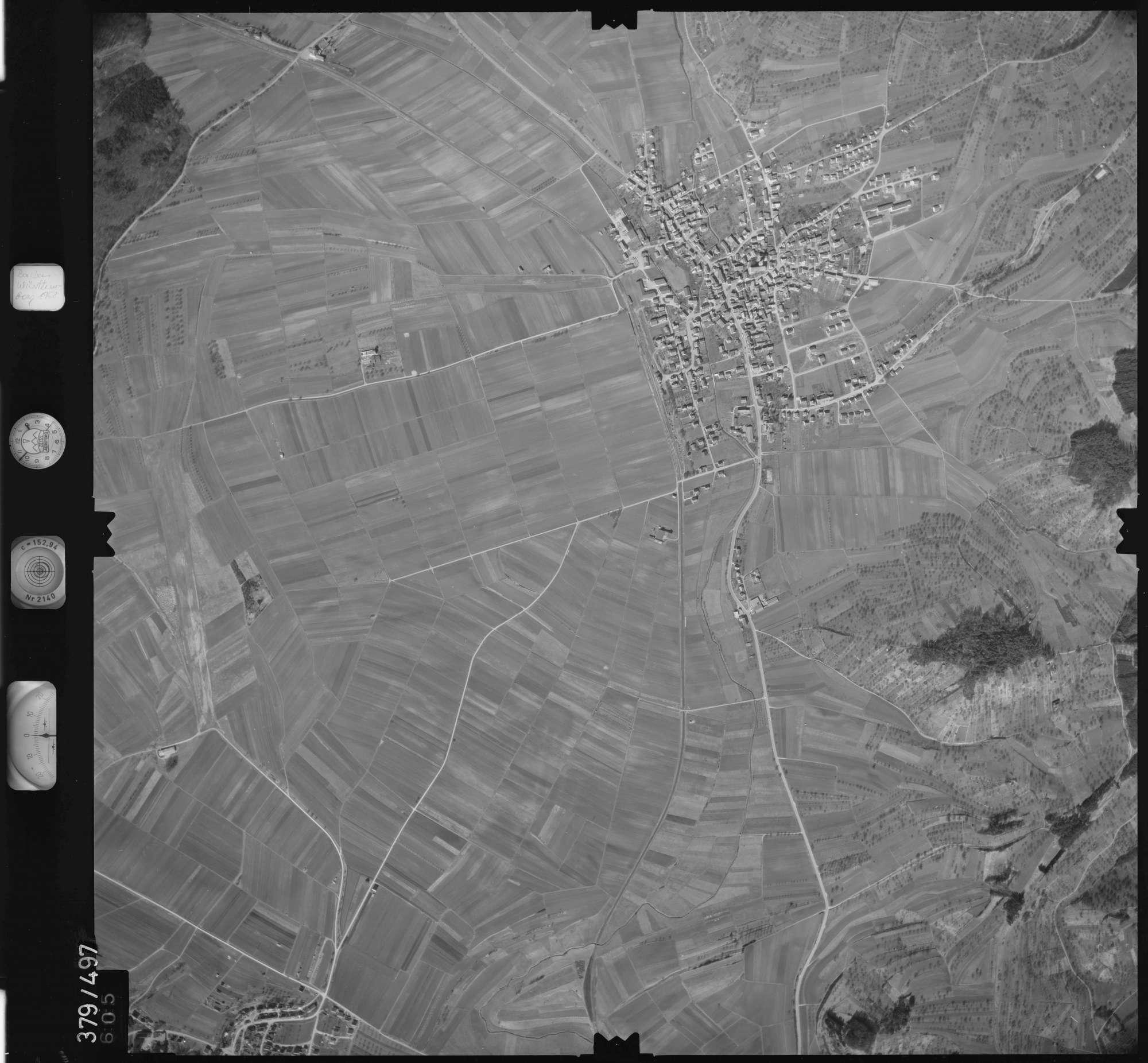 Luftbild: Film 31 Bildnr. 605, Bild 1