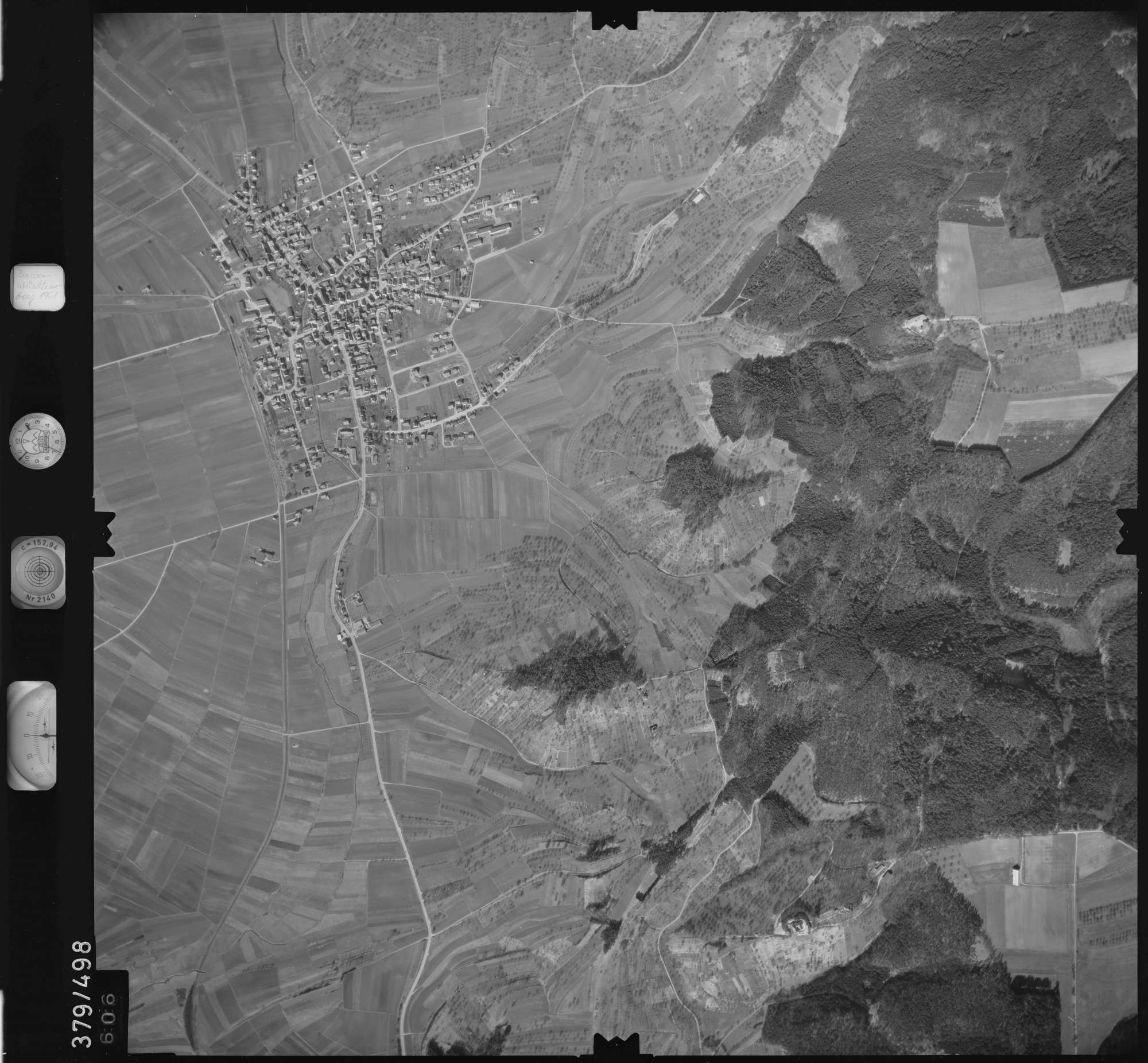 Luftbild: Film 31 Bildnr. 606, Bild 1