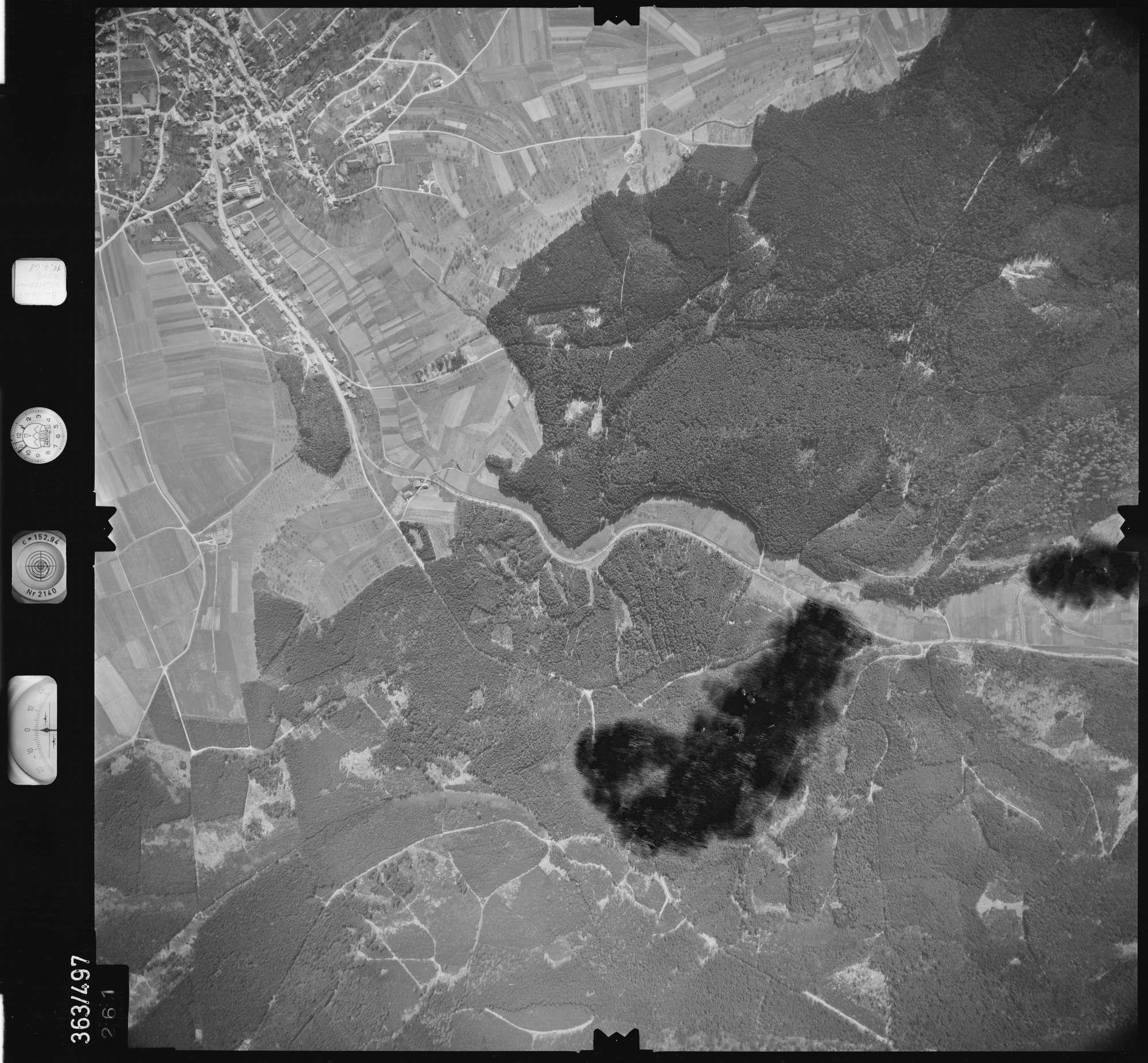 Luftbild: Film 45 Bildnr. 261, Bild 1
