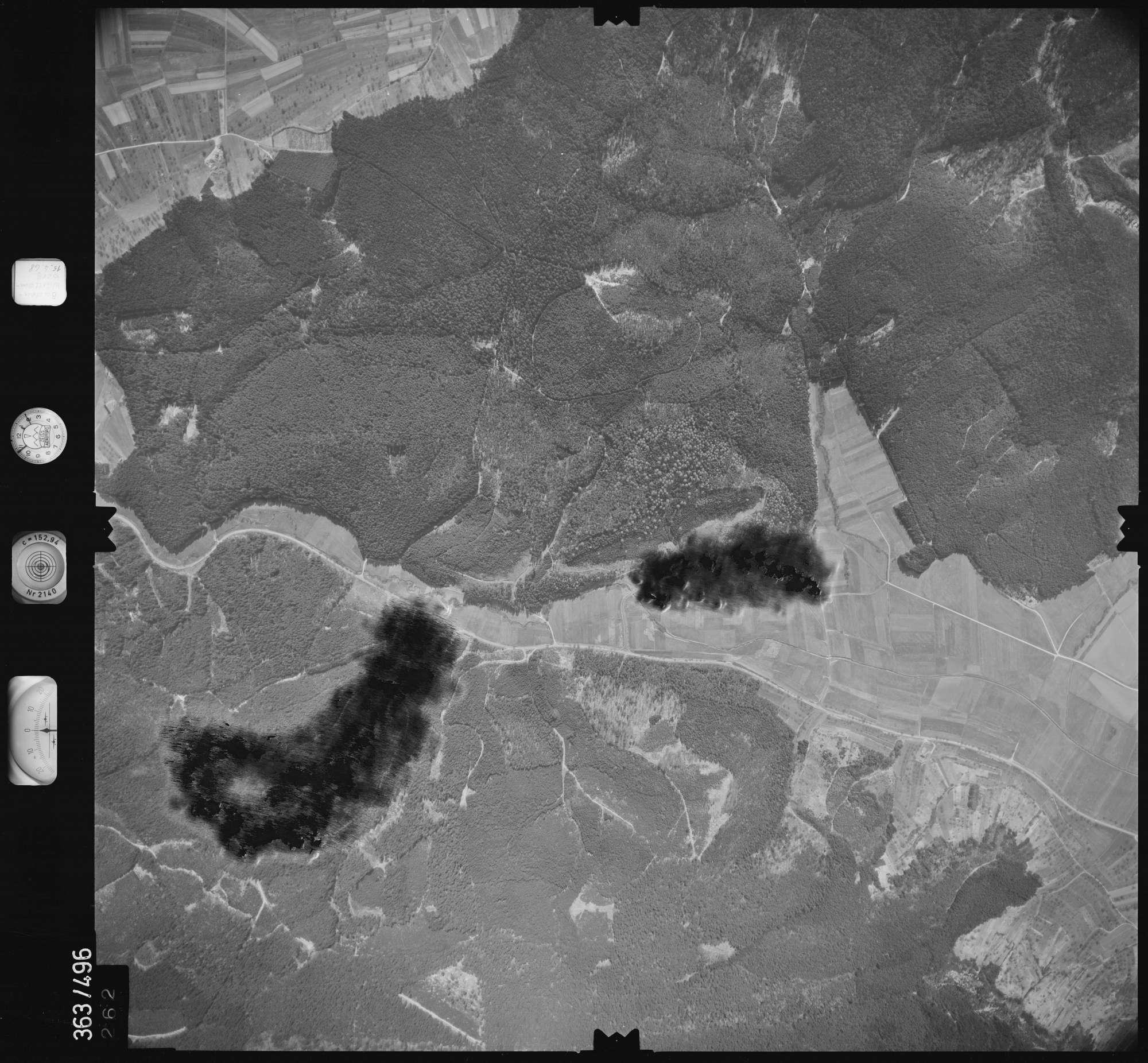Luftbild: Film 45 Bildnr. 262, Bild 1