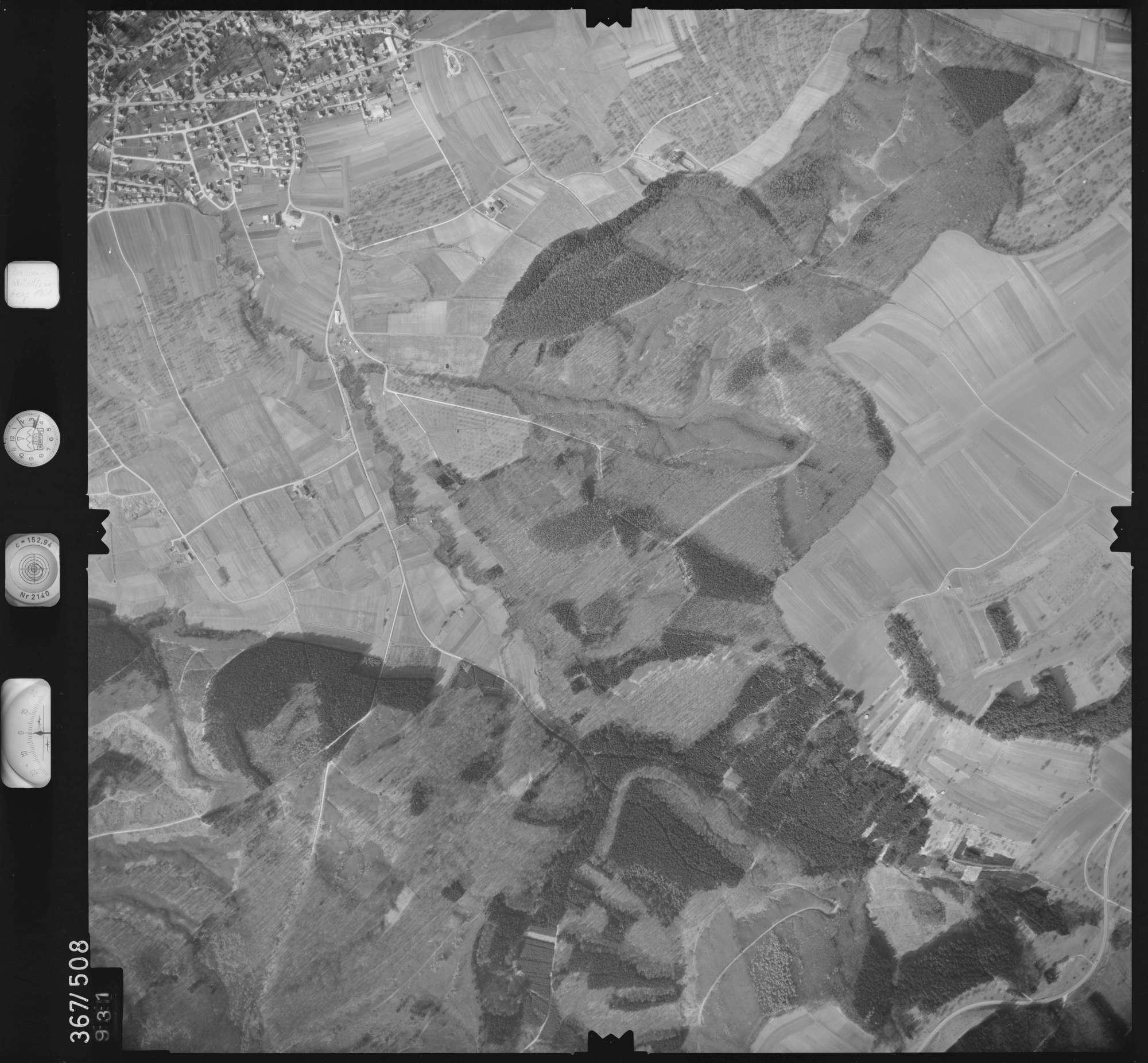 Luftbild: Film 33 Bildnr. 931, Bild 1