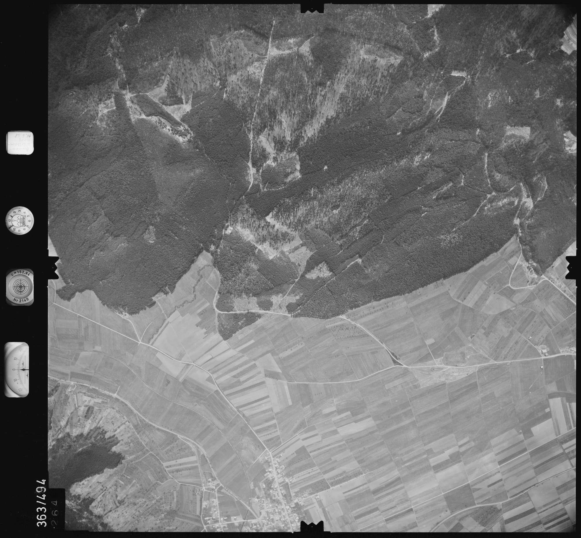 Luftbild: Film 45 Bildnr. 264, Bild 1