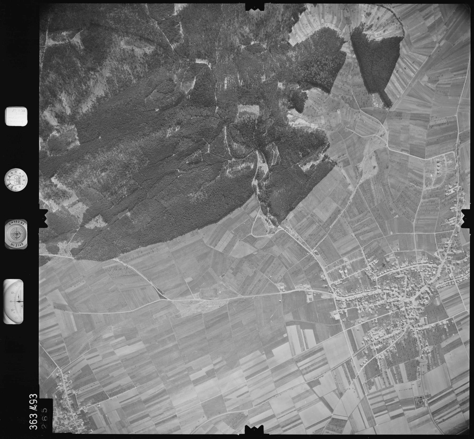 Luftbild: Film 45 Bildnr. 265, Bild 1