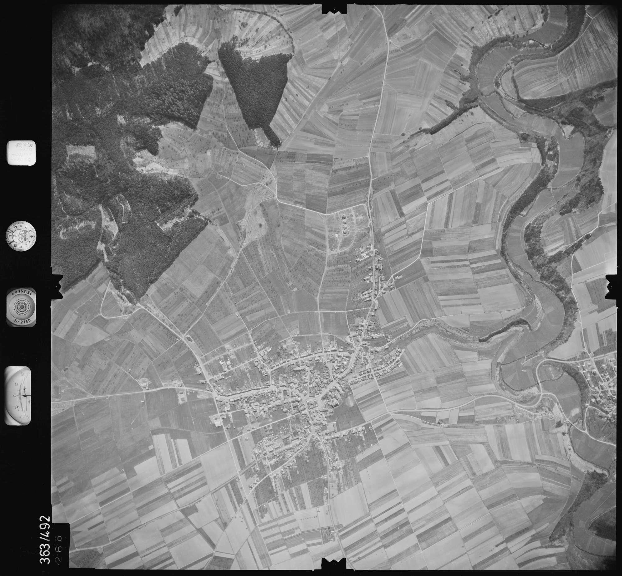 Luftbild: Film 45 Bildnr. 266, Bild 1