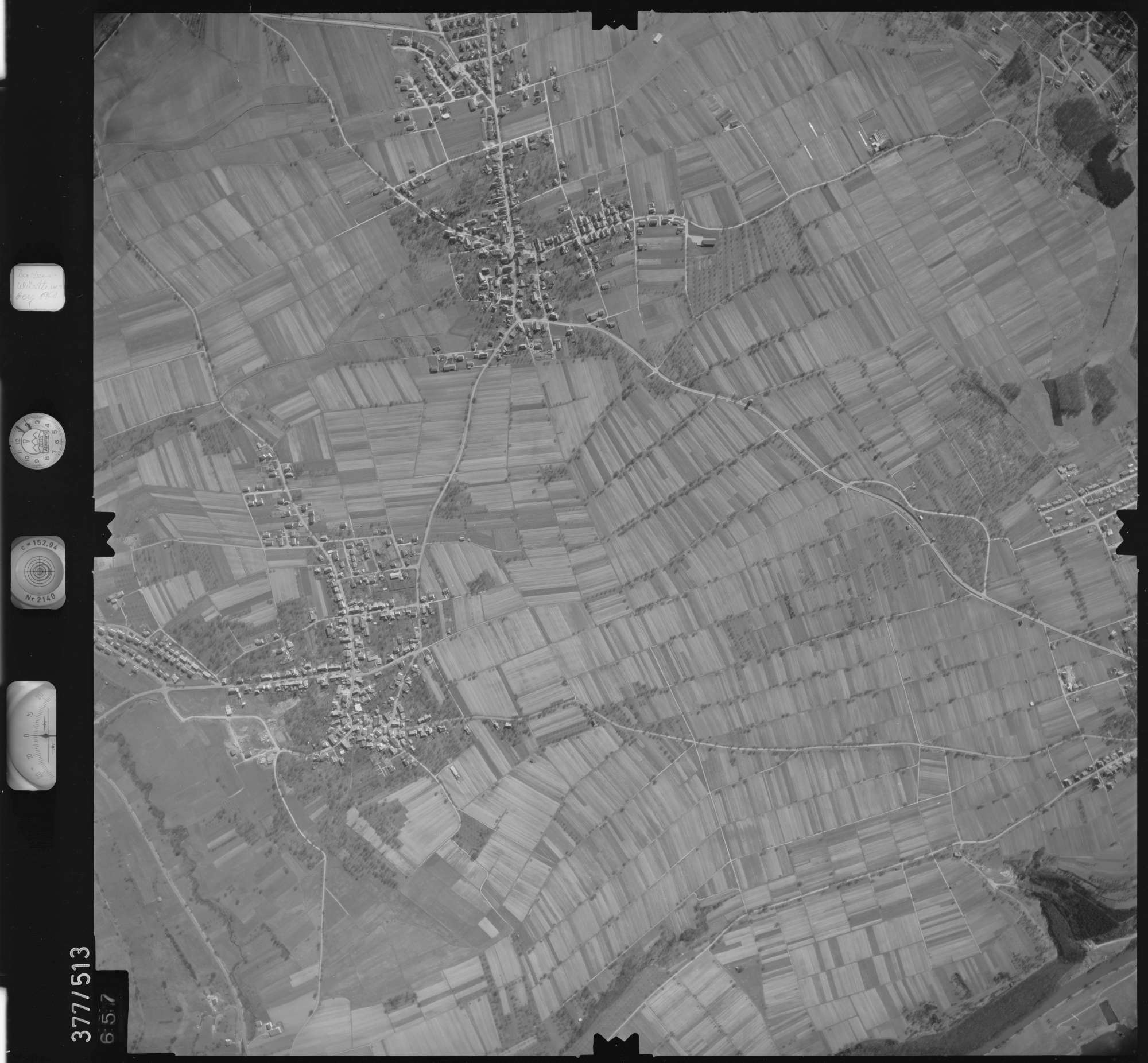 Luftbild: Film 31 Bildnr. 657, Bild 1