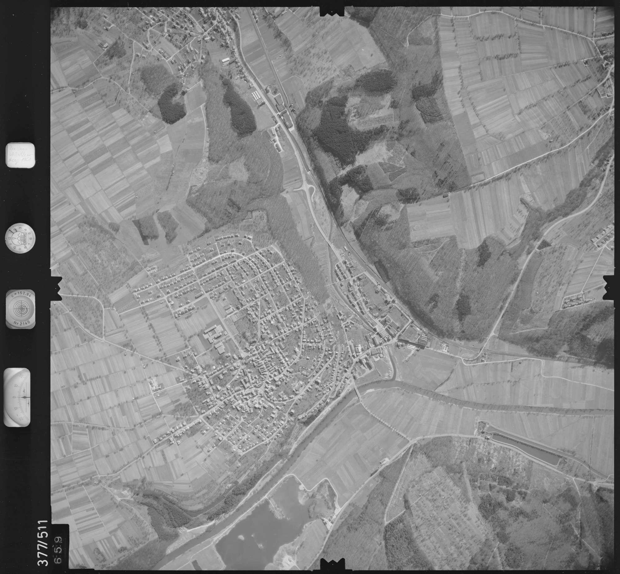Luftbild: Film 31 Bildnr. 659, Bild 1