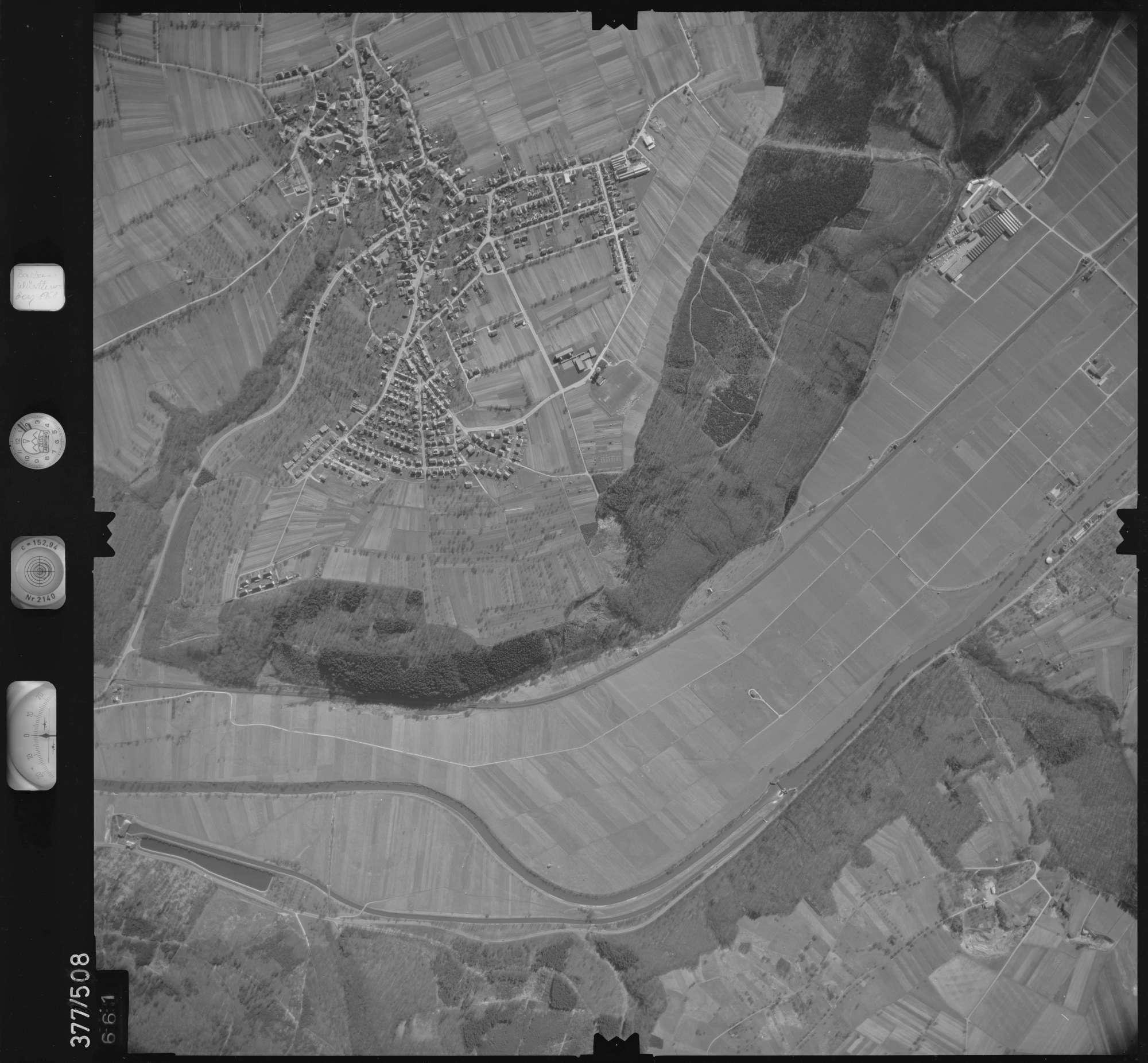 Luftbild: Film 31 Bildnr. 661, Bild 1