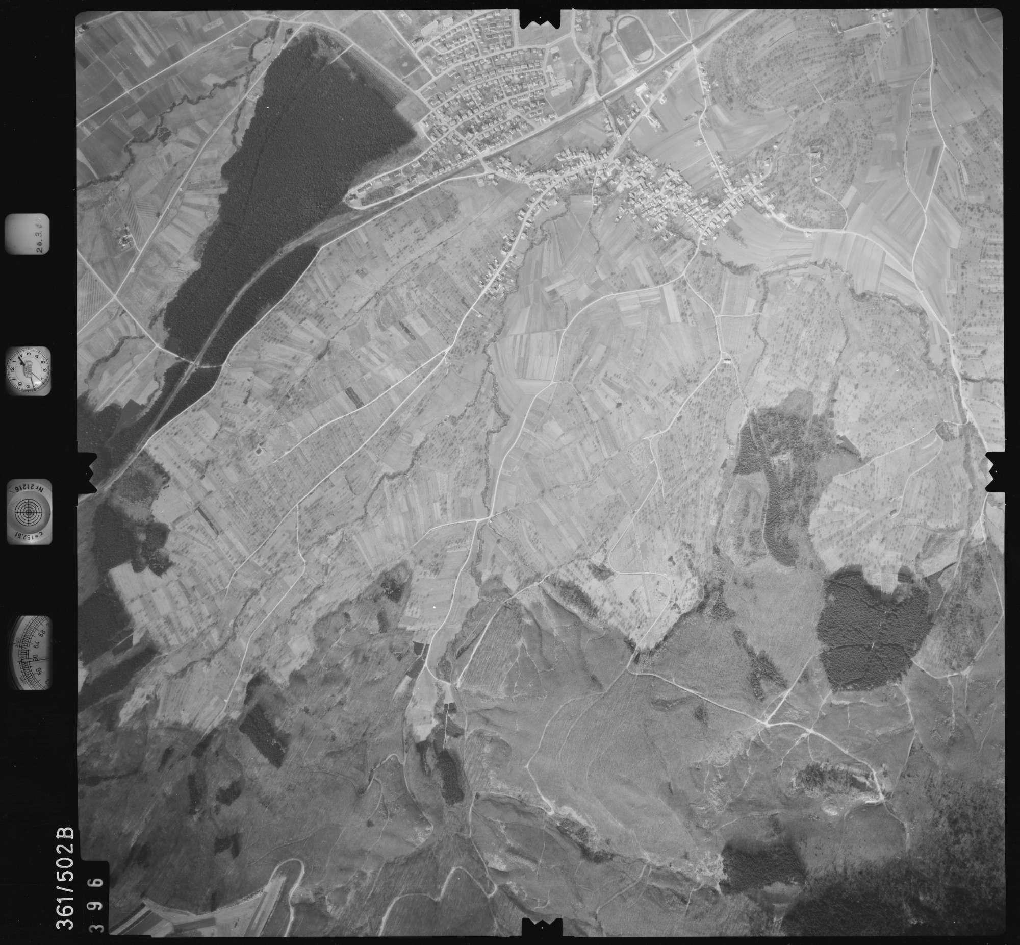Luftbild: Film 20 Bildnr. 396, Bild 1