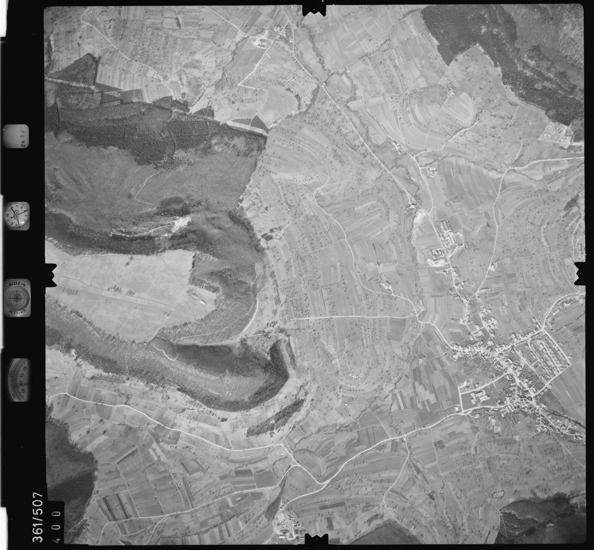 Luftbild: Film 20 Bildnr. 400, Bild 1