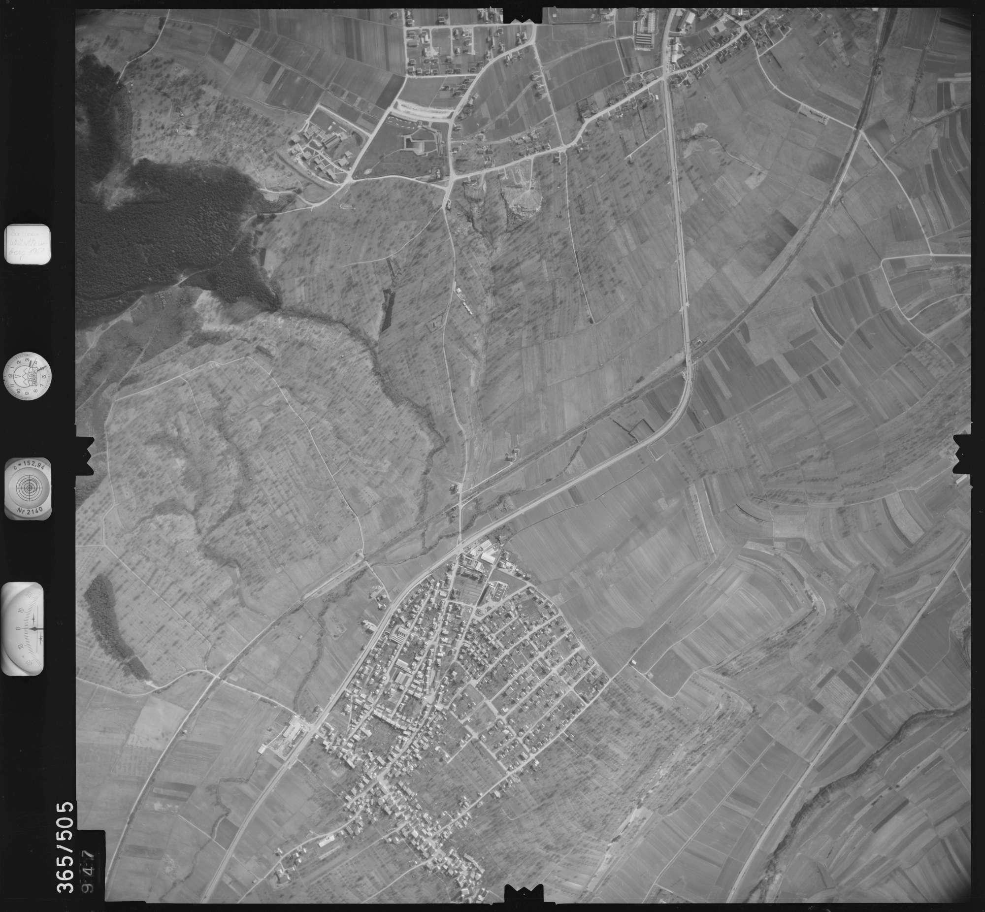 Luftbild: Film 33 Bildnr. 947, Bild 1