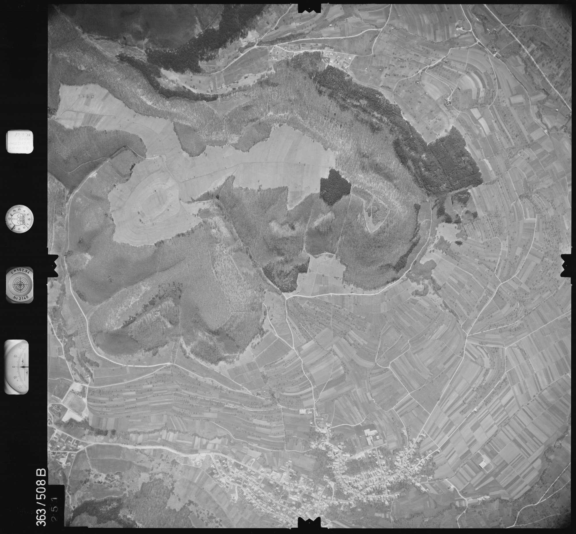 Luftbild: Film 45 Bildnr. 251, Bild 1