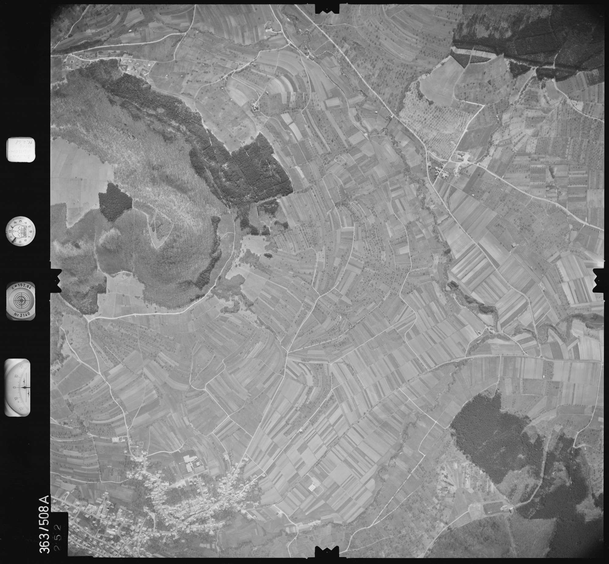 Luftbild: Film 45 Bildnr. 252, Bild 1