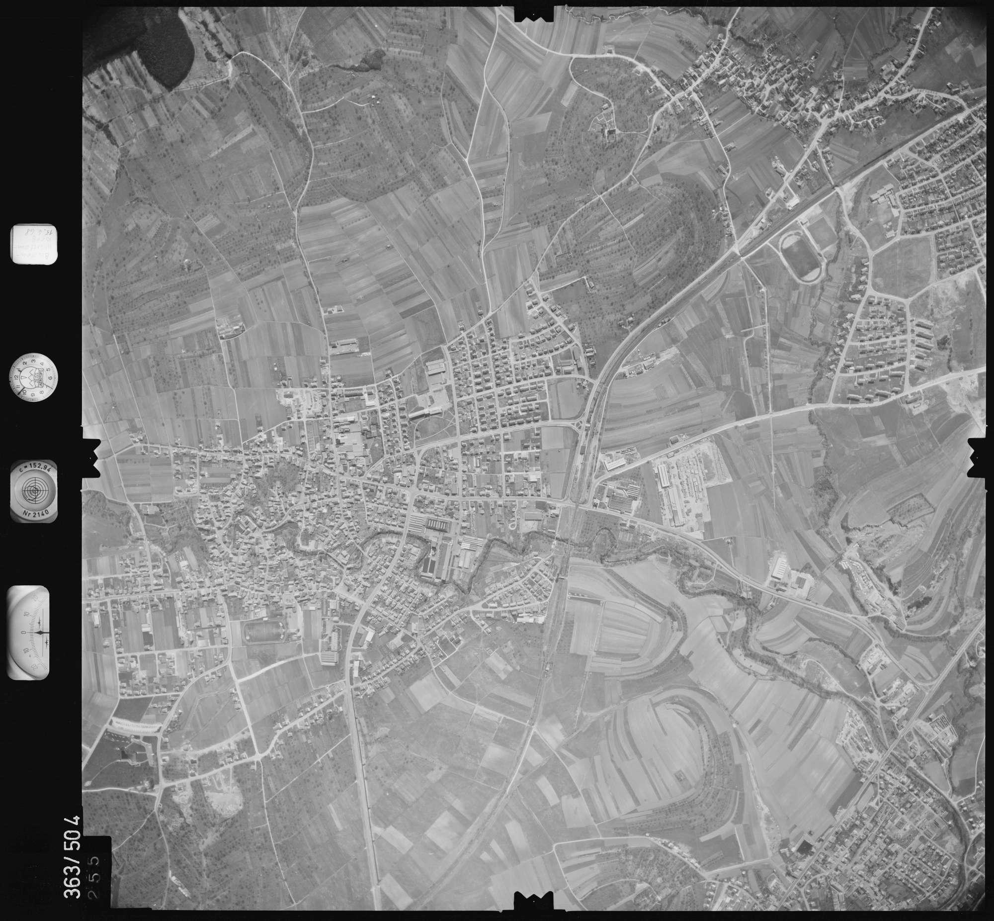 Luftbild: Film 45 Bildnr. 255, Bild 1