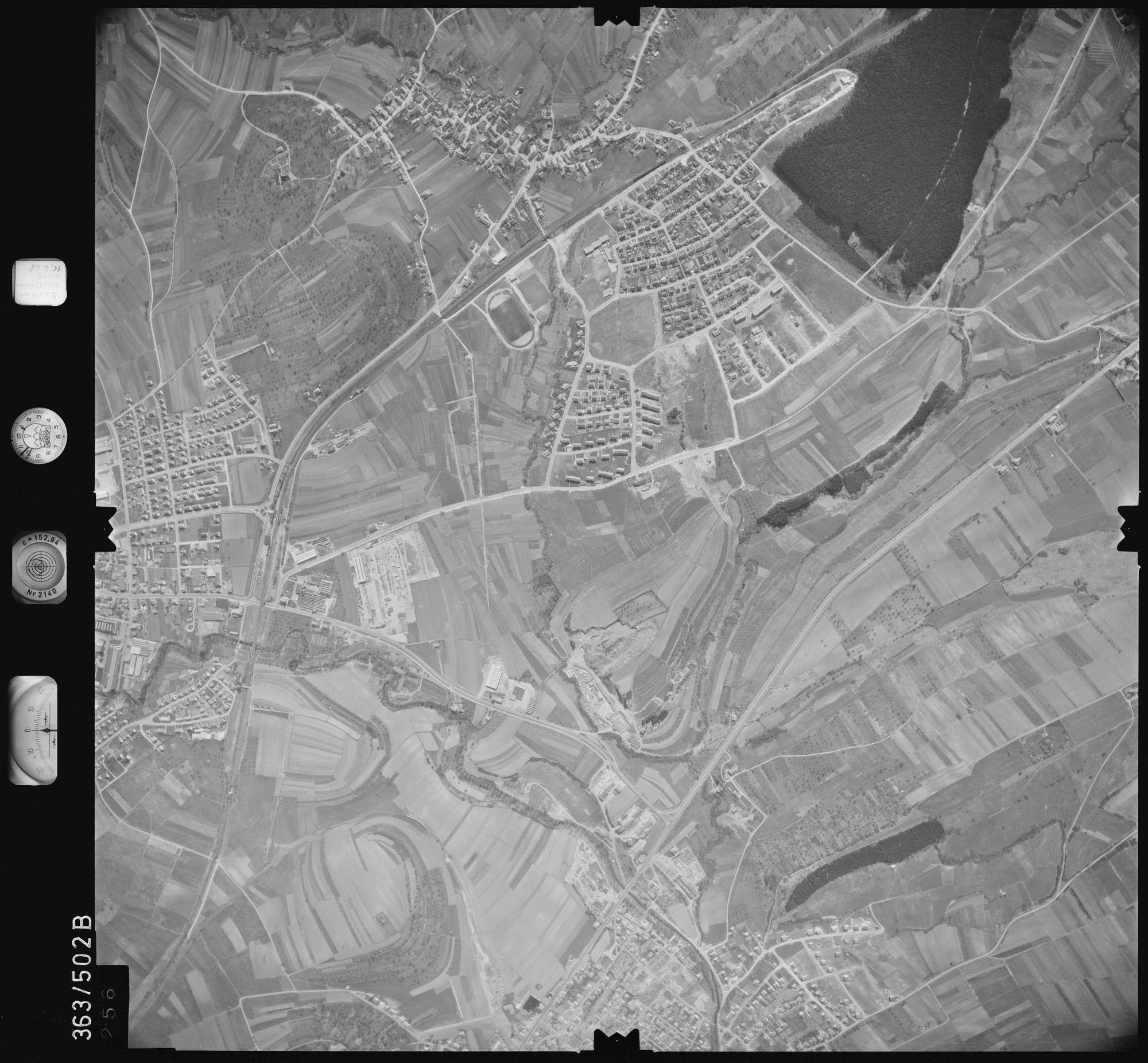 Luftbild: Film 45 Bildnr. 256, Bild 1