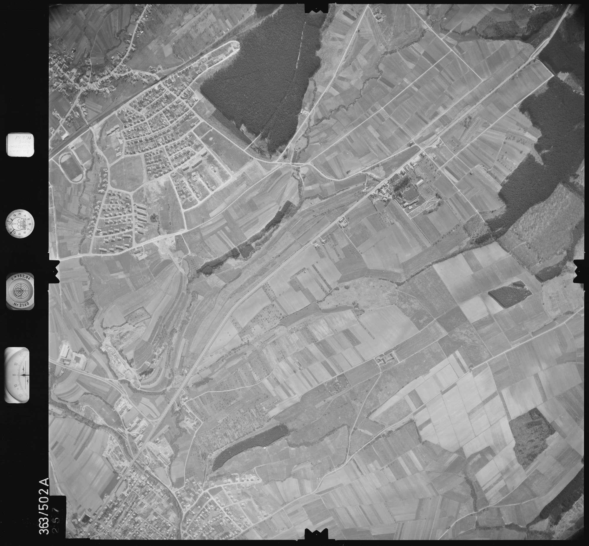 Luftbild: Film 45 Bildnr. 257, Bild 1