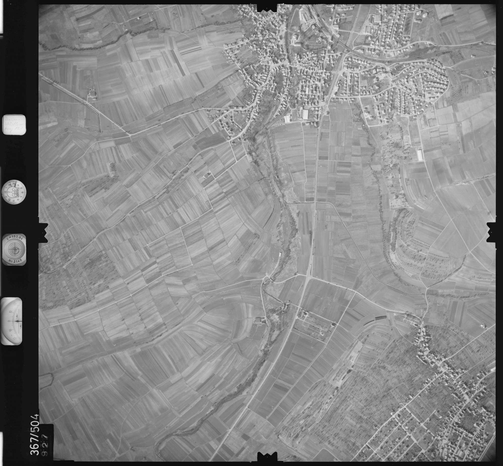 Luftbild: Film 33 Bildnr. 927, Bild 1
