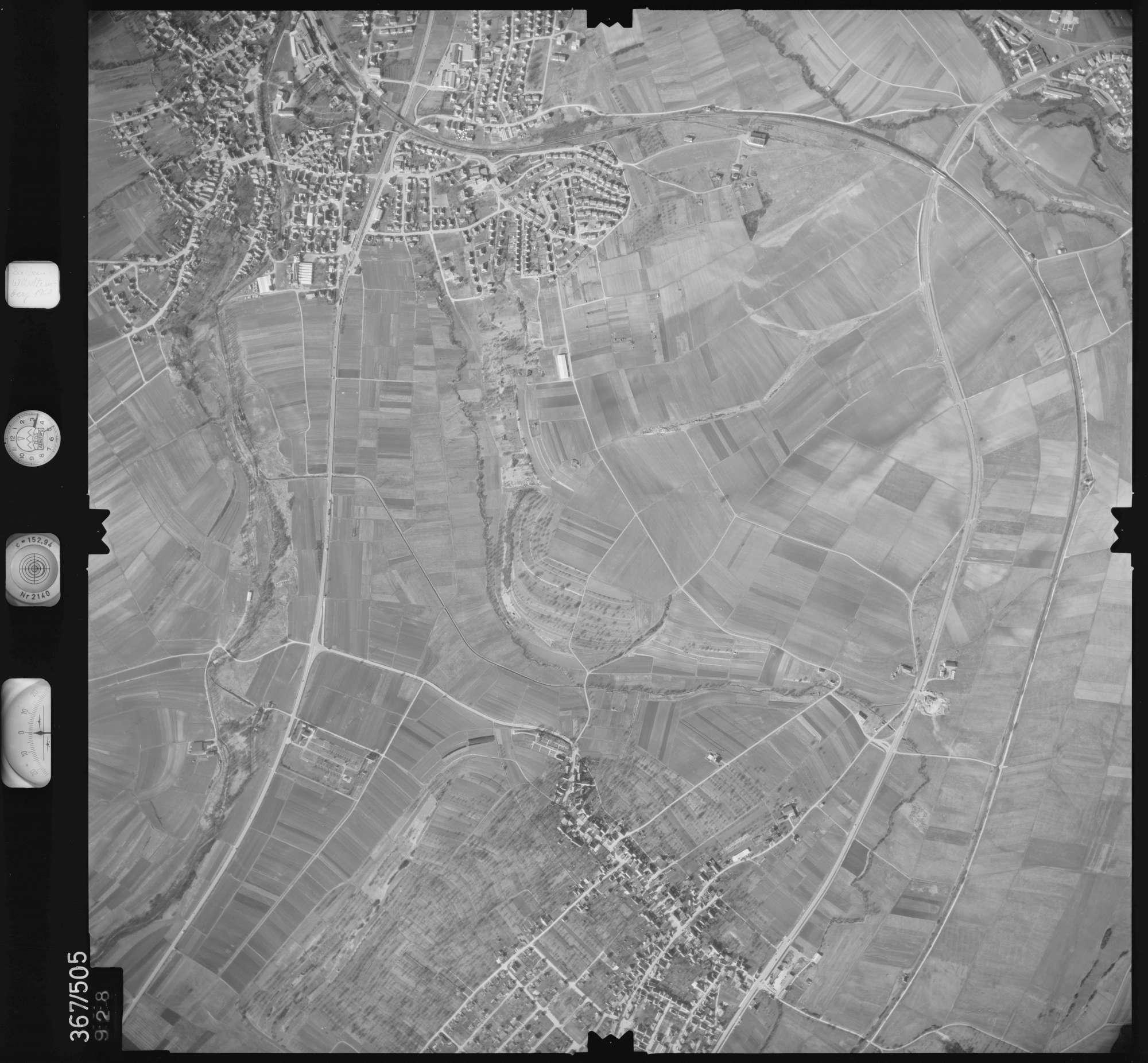 Luftbild: Film 33 Bildnr. 928, Bild 1