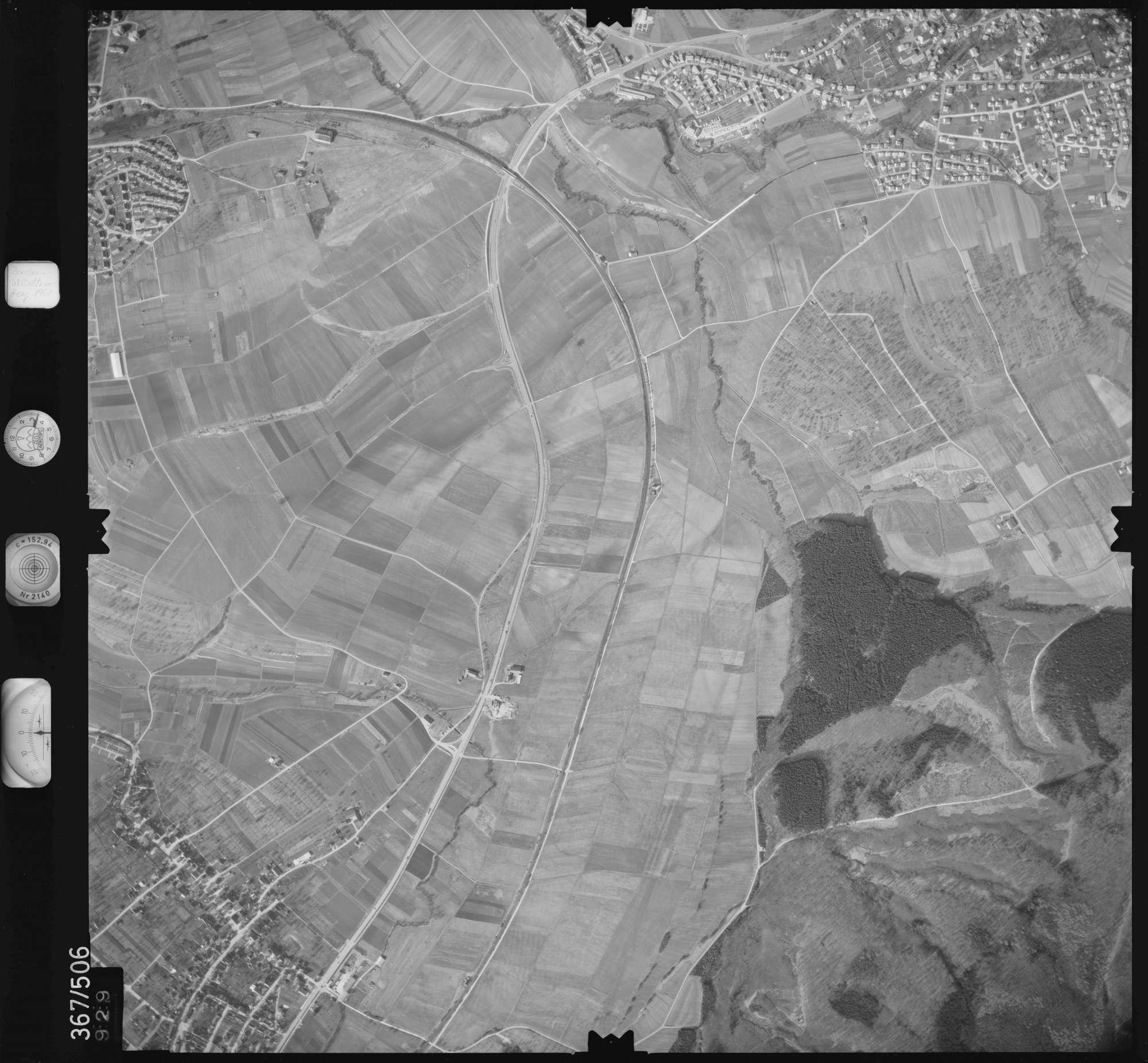 Luftbild: Film 33 Bildnr. 929, Bild 1