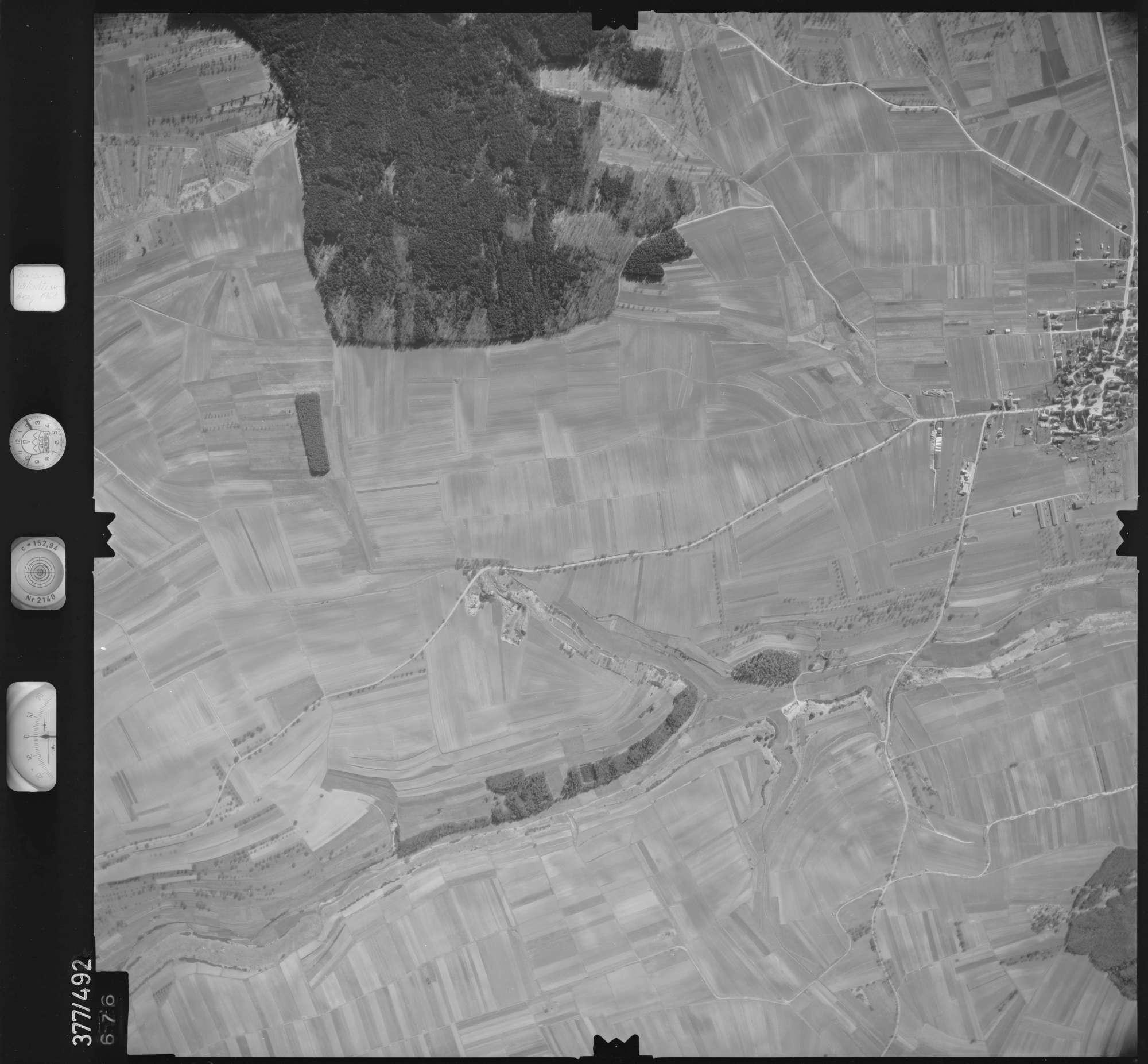 Luftbild: Film 31 Bildnr. 676, Bild 1