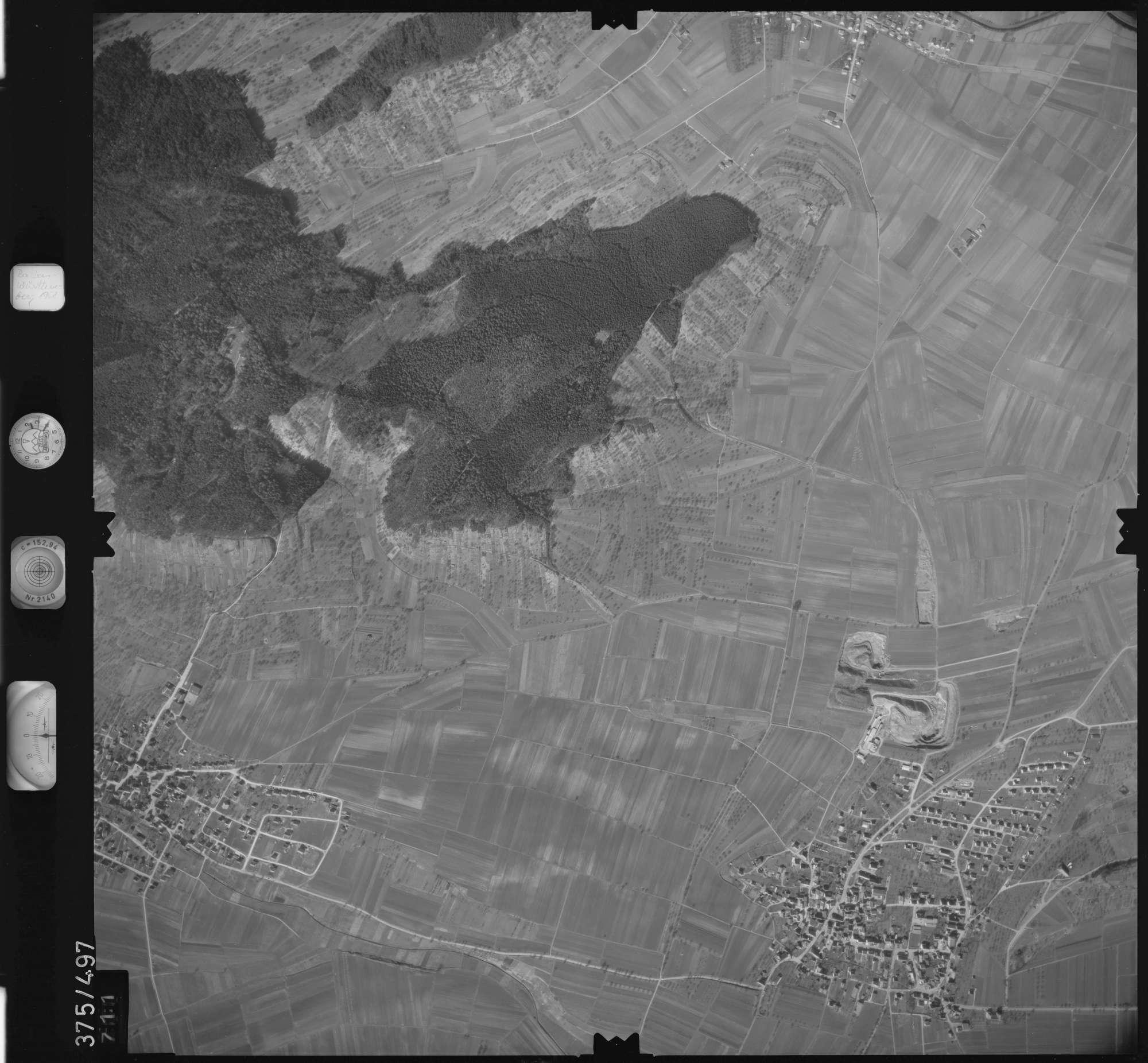 Luftbild: Film 31 Bildnr. 711, Bild 1