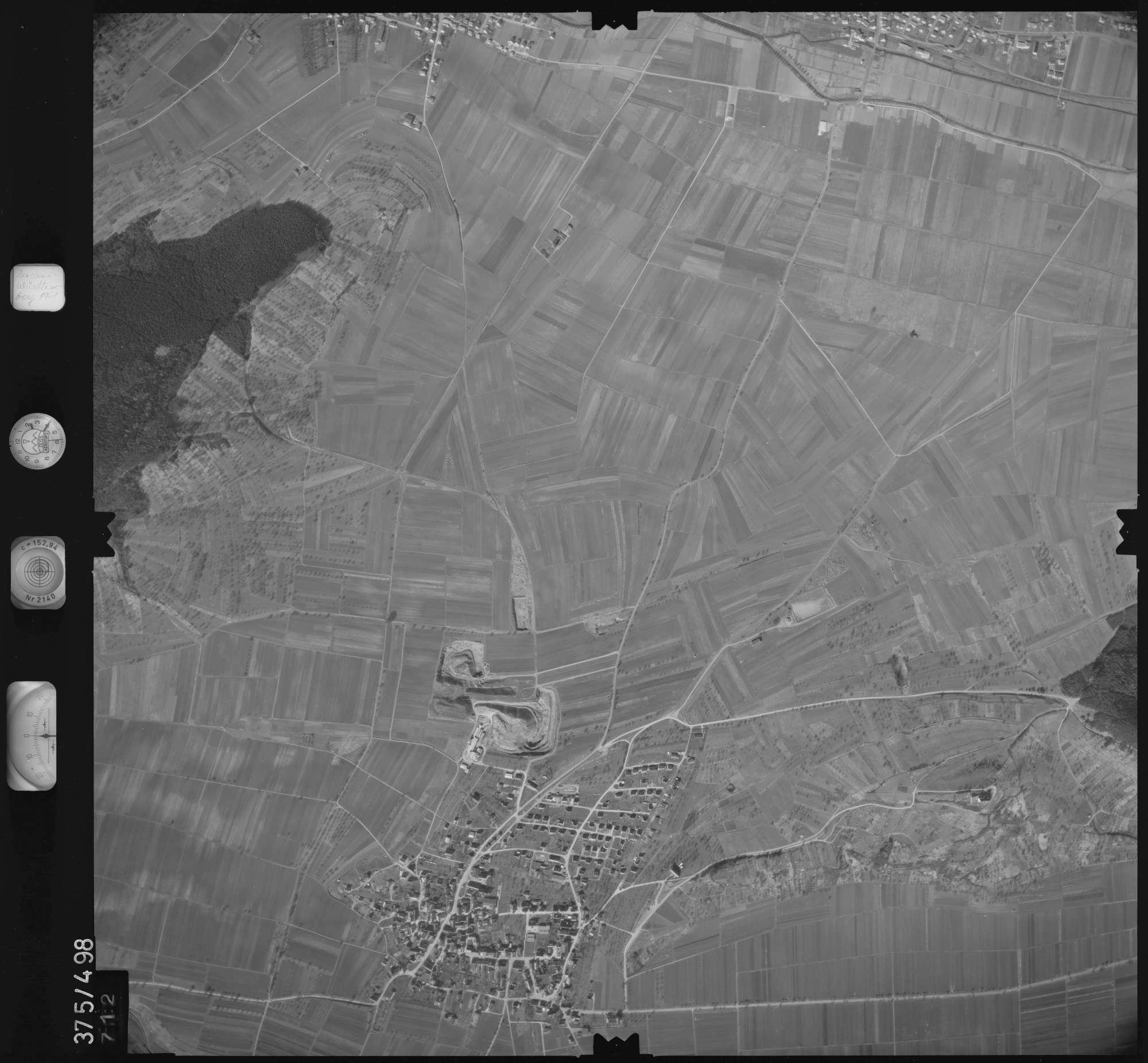 Luftbild: Film 31 Bildnr. 712, Bild 1