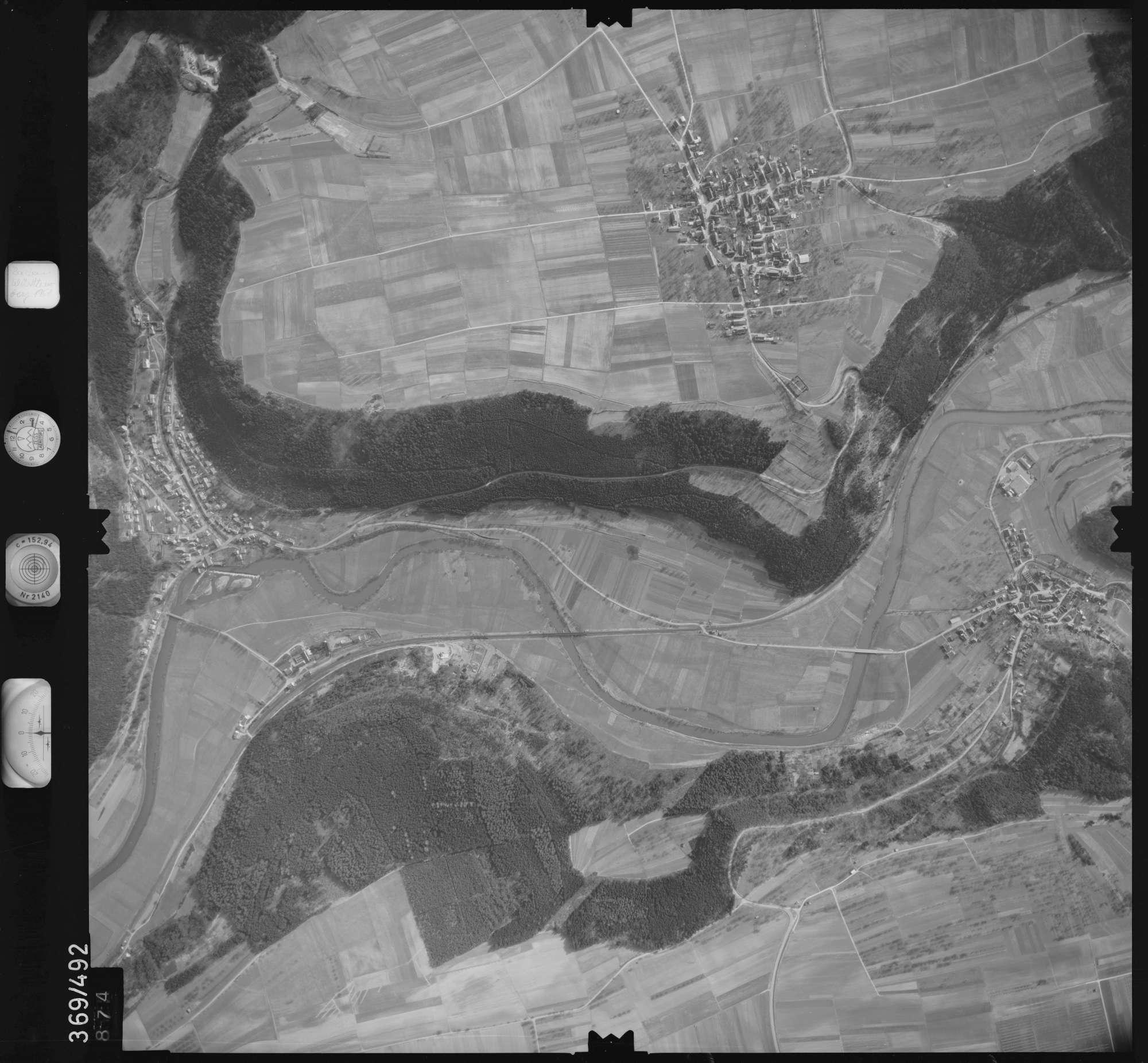 Luftbild: Film 33 Bildnr. 874, Bild 1