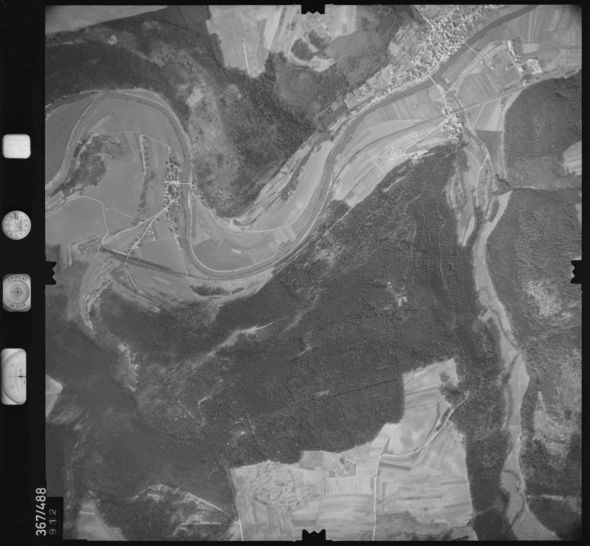Luftbild: Film 33 Bildnr. 912, Bild 1