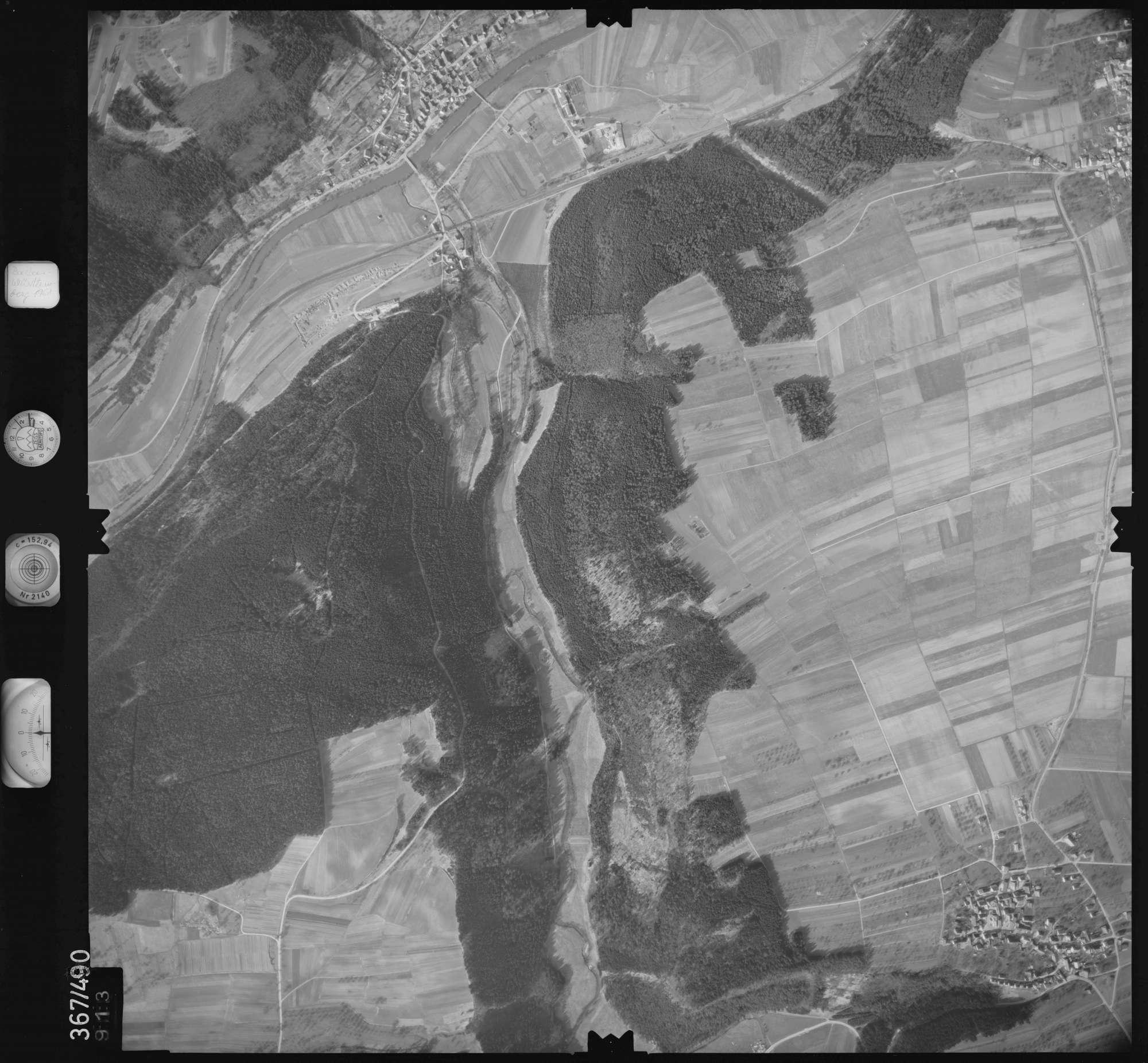 Luftbild: Film 33 Bildnr. 913, Bild 1