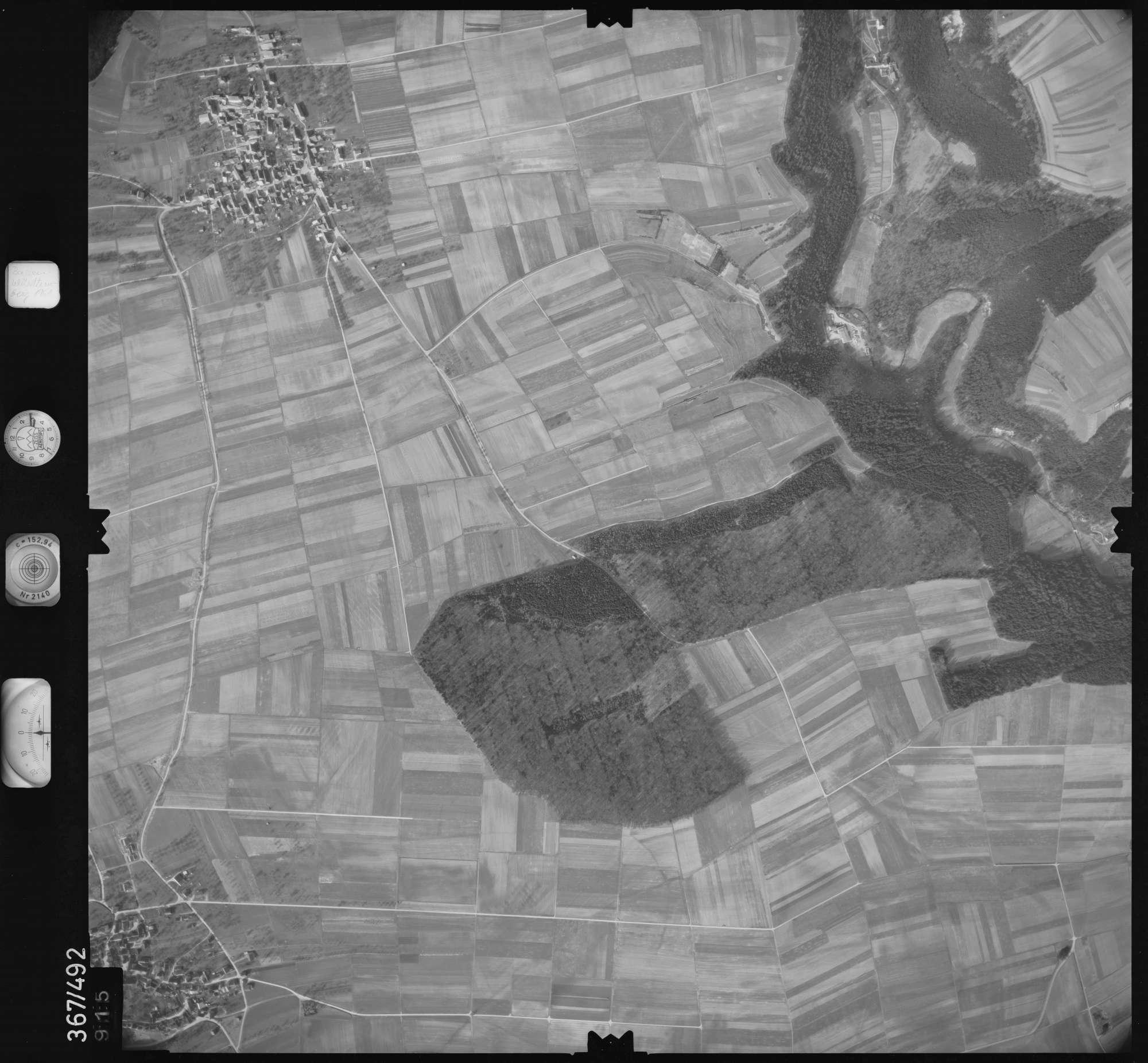 Luftbild: Film 33 Bildnr. 915, Bild 1