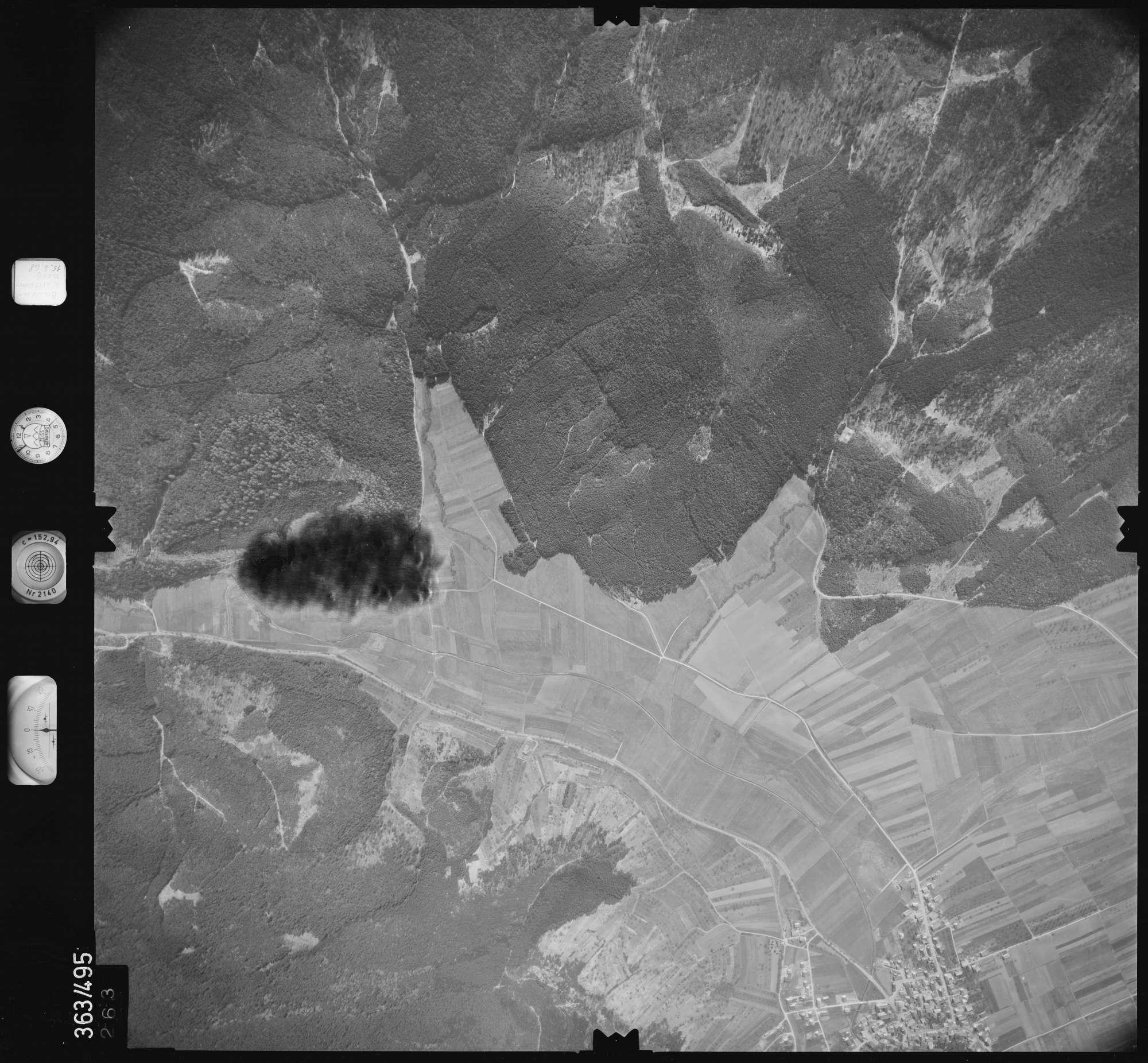 Luftbild: Film 45 Bildnr. 263, Bild 1