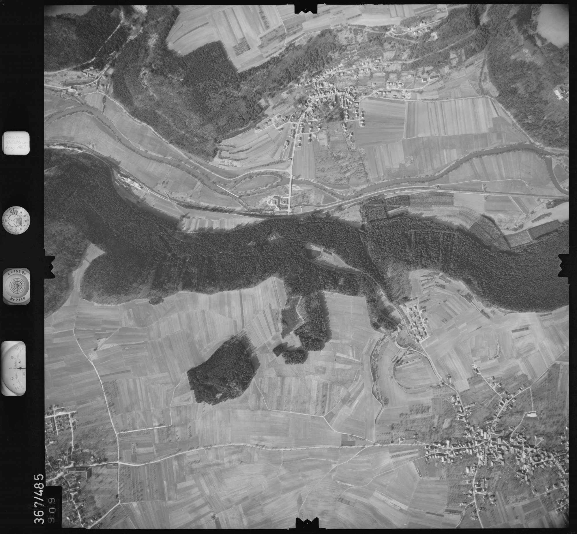 Luftbild: Film 33 Bildnr. 909, Bild 1