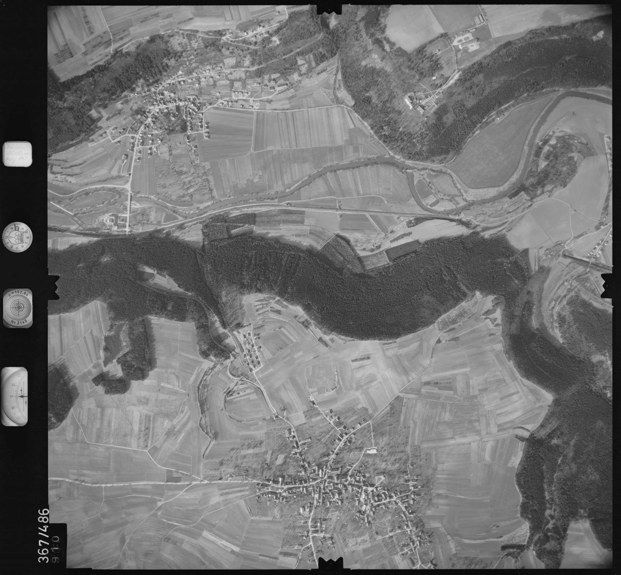 Luftbild: Film 33 Bildnr. 910, Bild 1