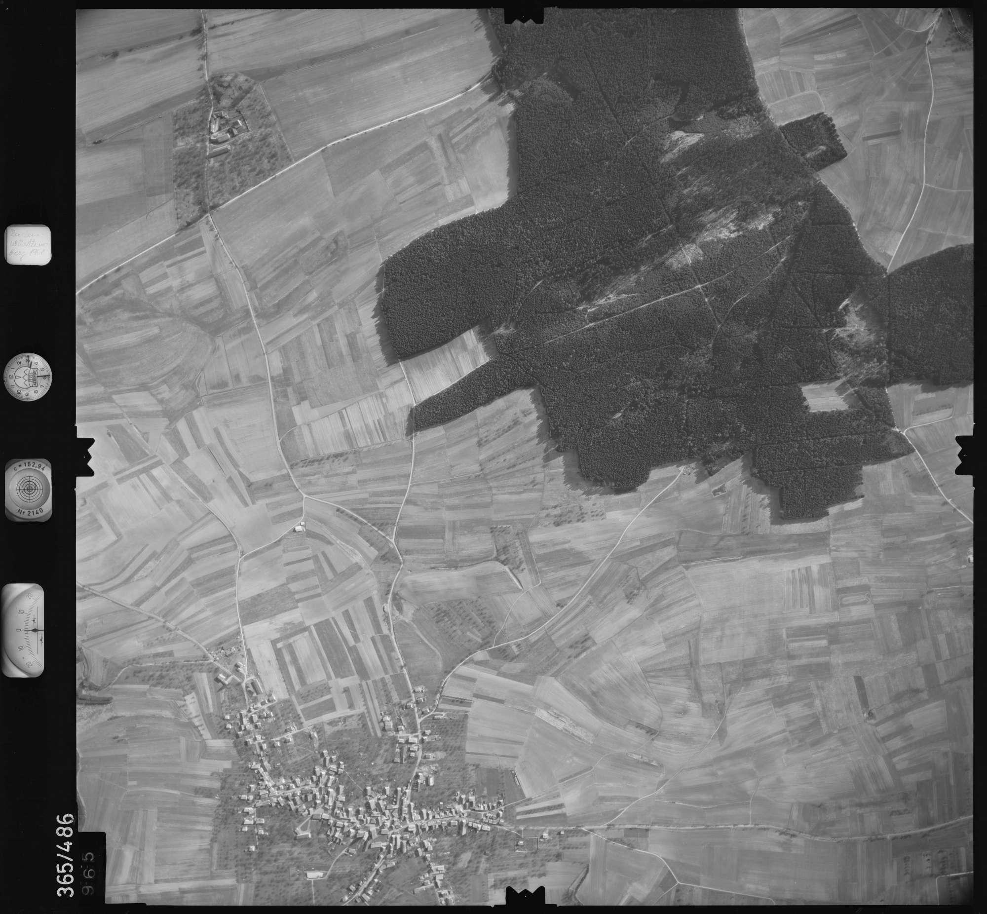 Luftbild: Film 33 Bildnr. 965, Bild 1