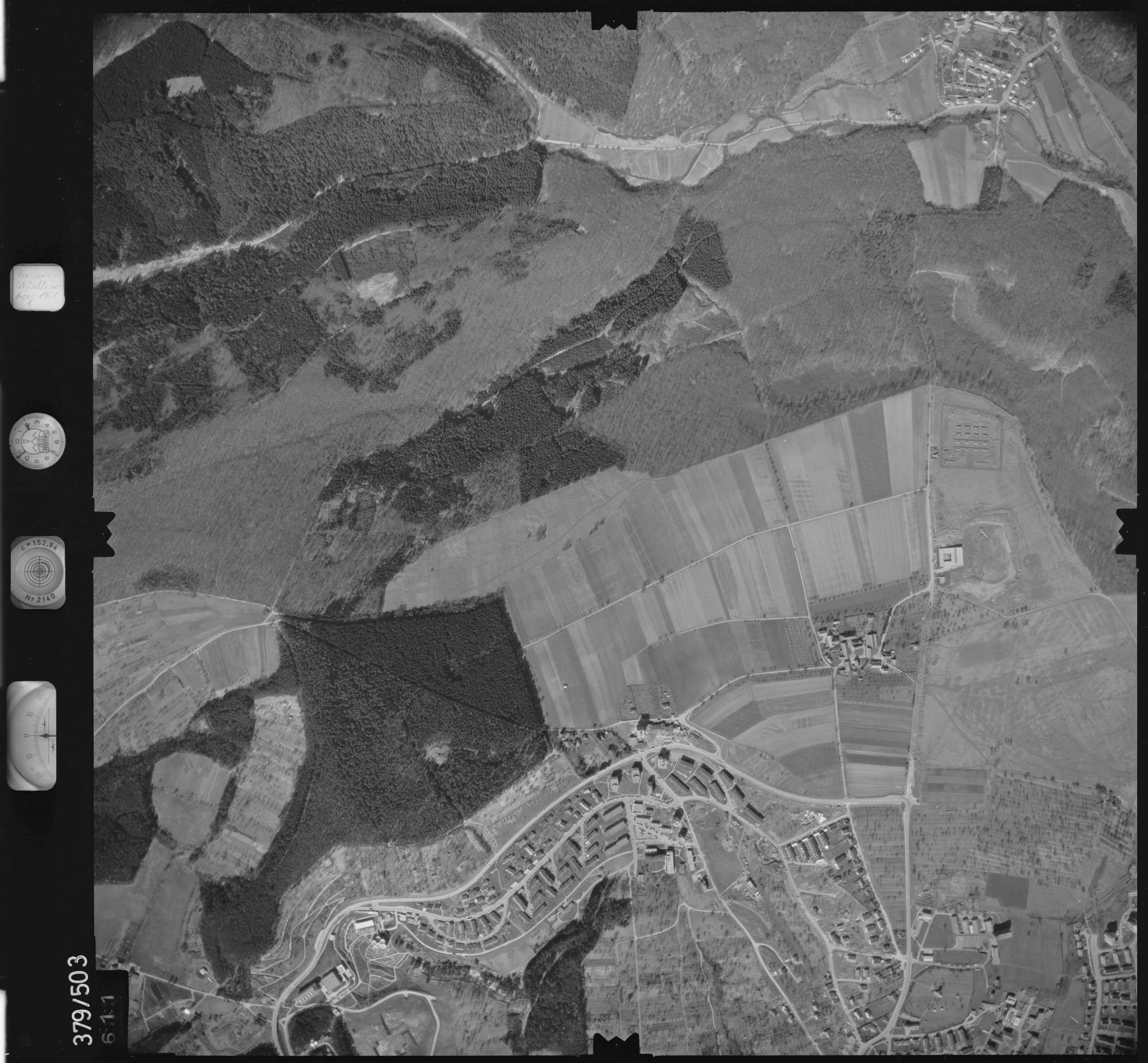 Luftbild: Film 31 Bildnr. 611, Bild 1