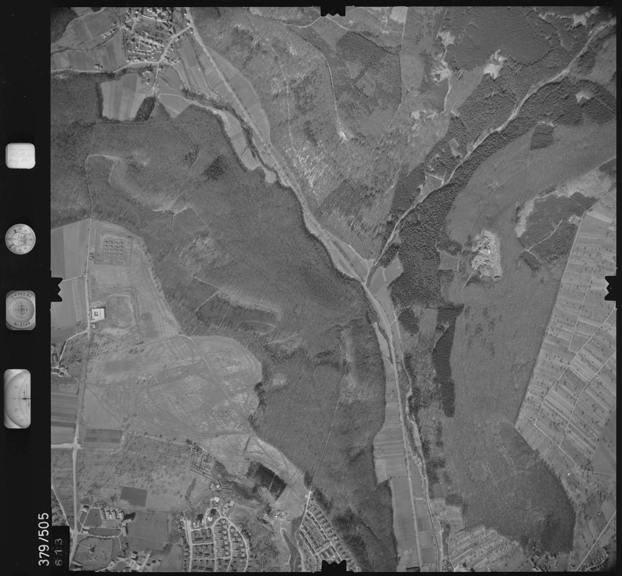 Luftbild: Film 31 Bildnr. 613, Bild 1