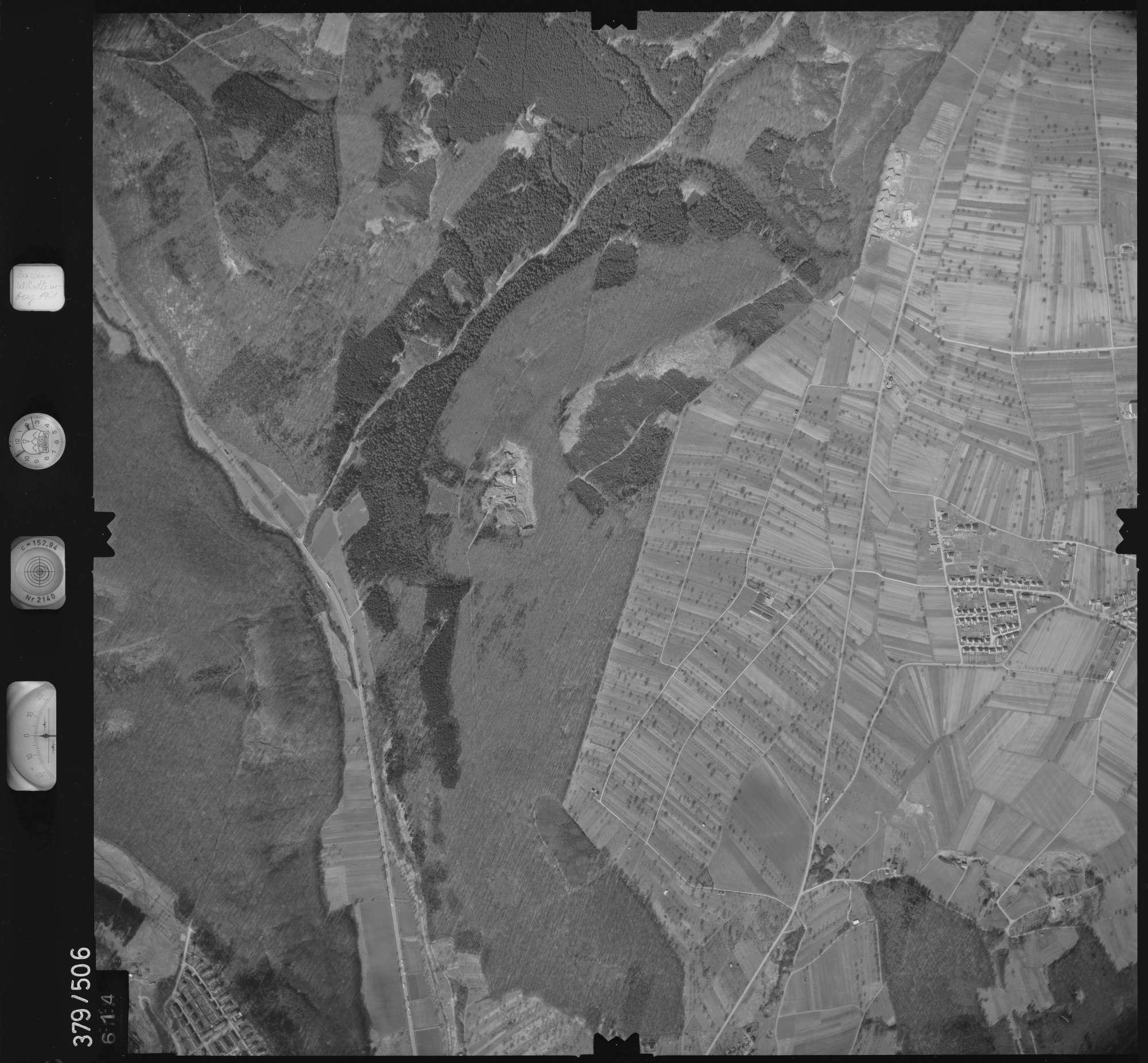 Luftbild: Film 31 Bildnr. 614, Bild 1