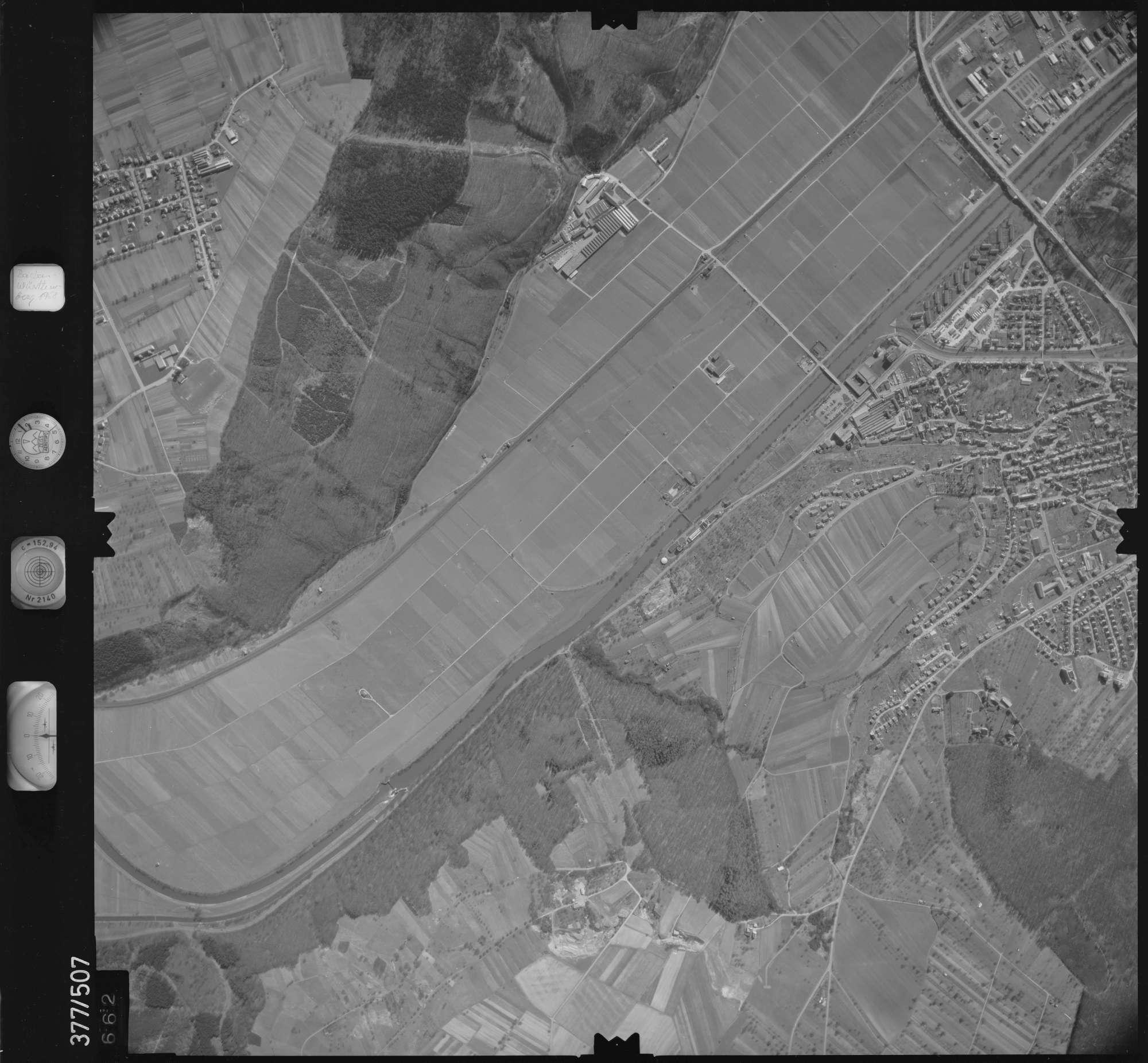 Luftbild: Film 31 Bildnr. 662, Bild 1