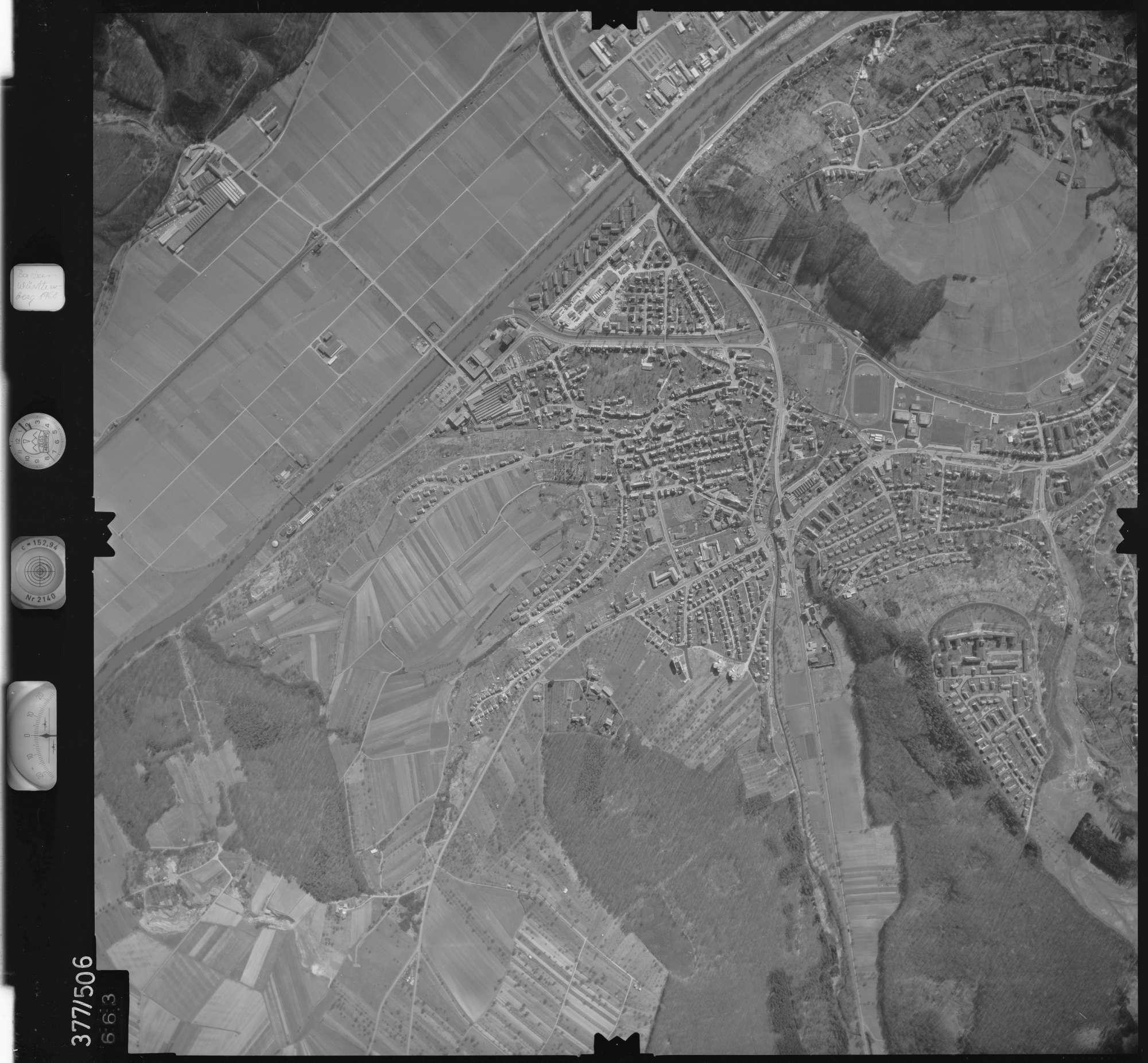 Luftbild: Film 31 Bildnr. 663, Bild 1
