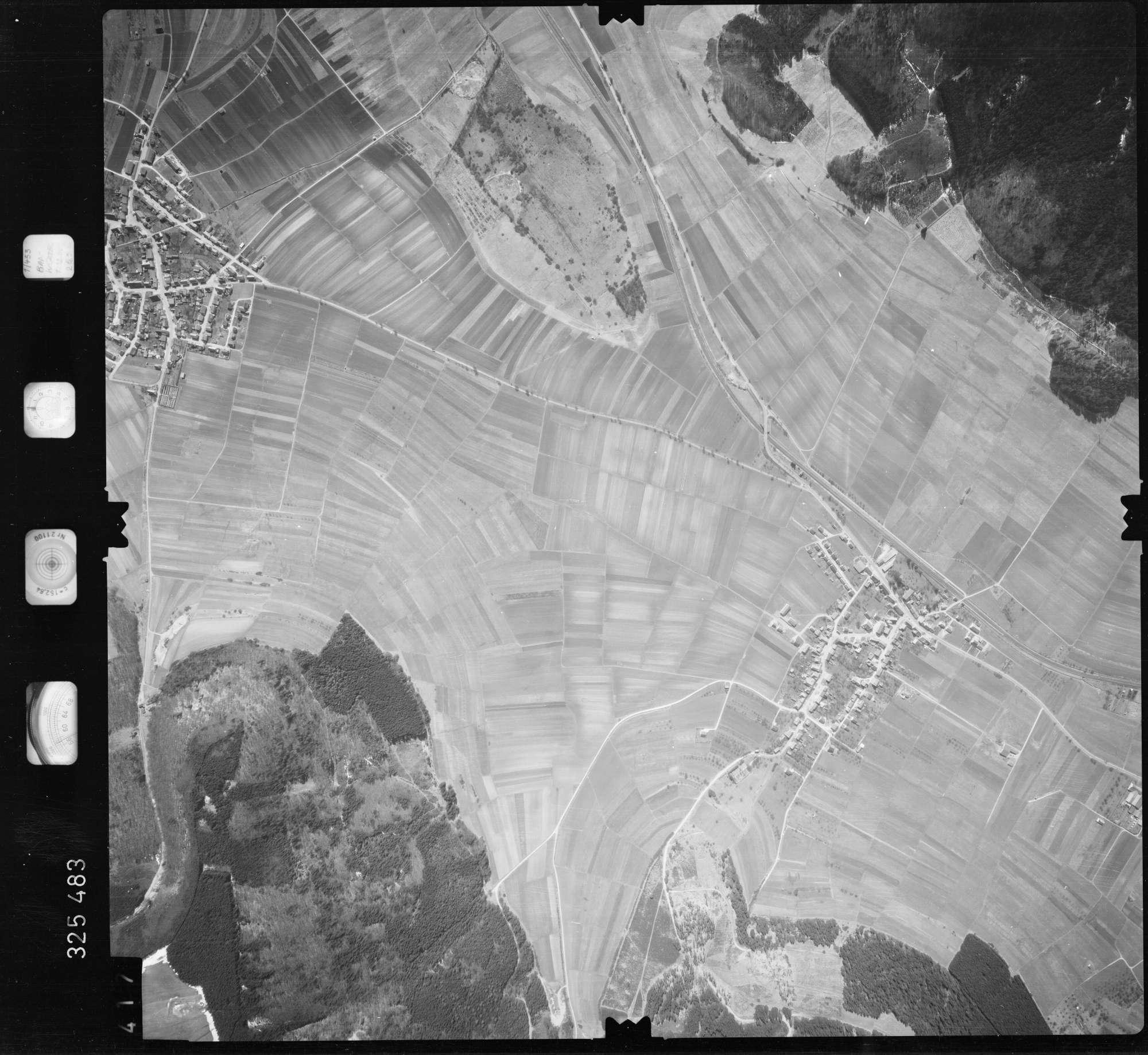 Luftbild: Film 52 Bildnr. 417, Bild 1