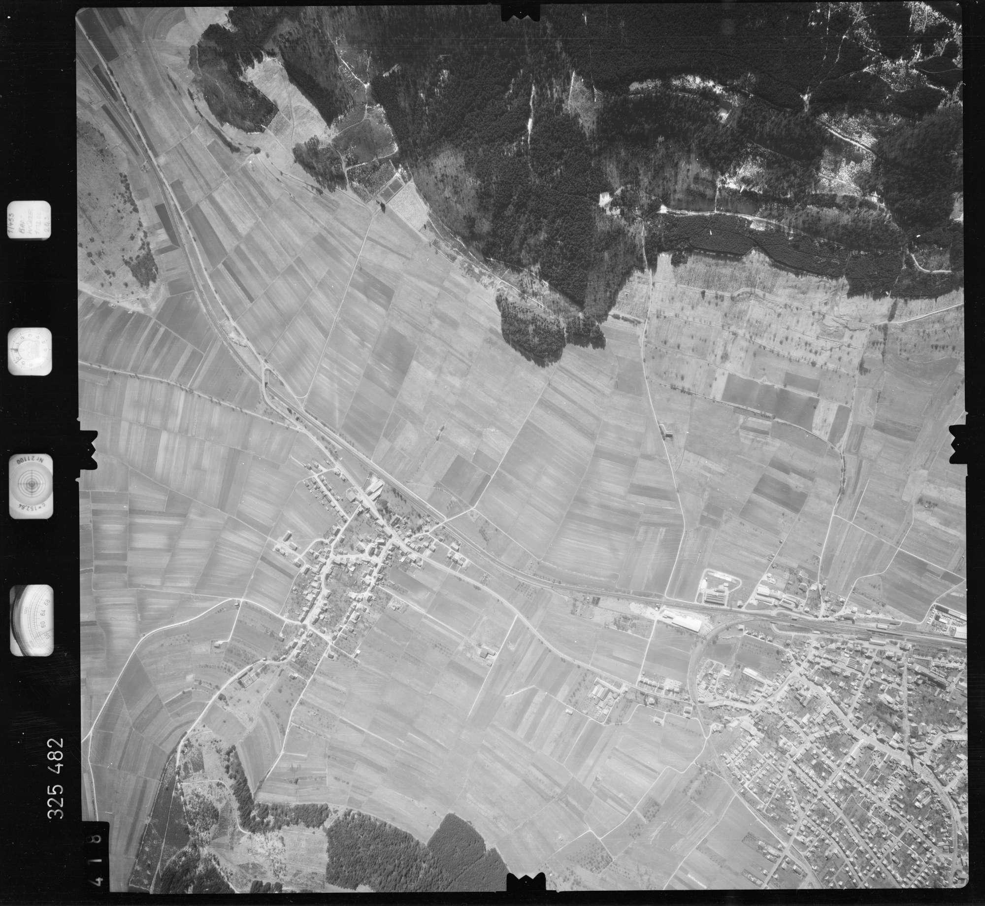 Luftbild: Film 52 Bildnr. 418, Bild 1