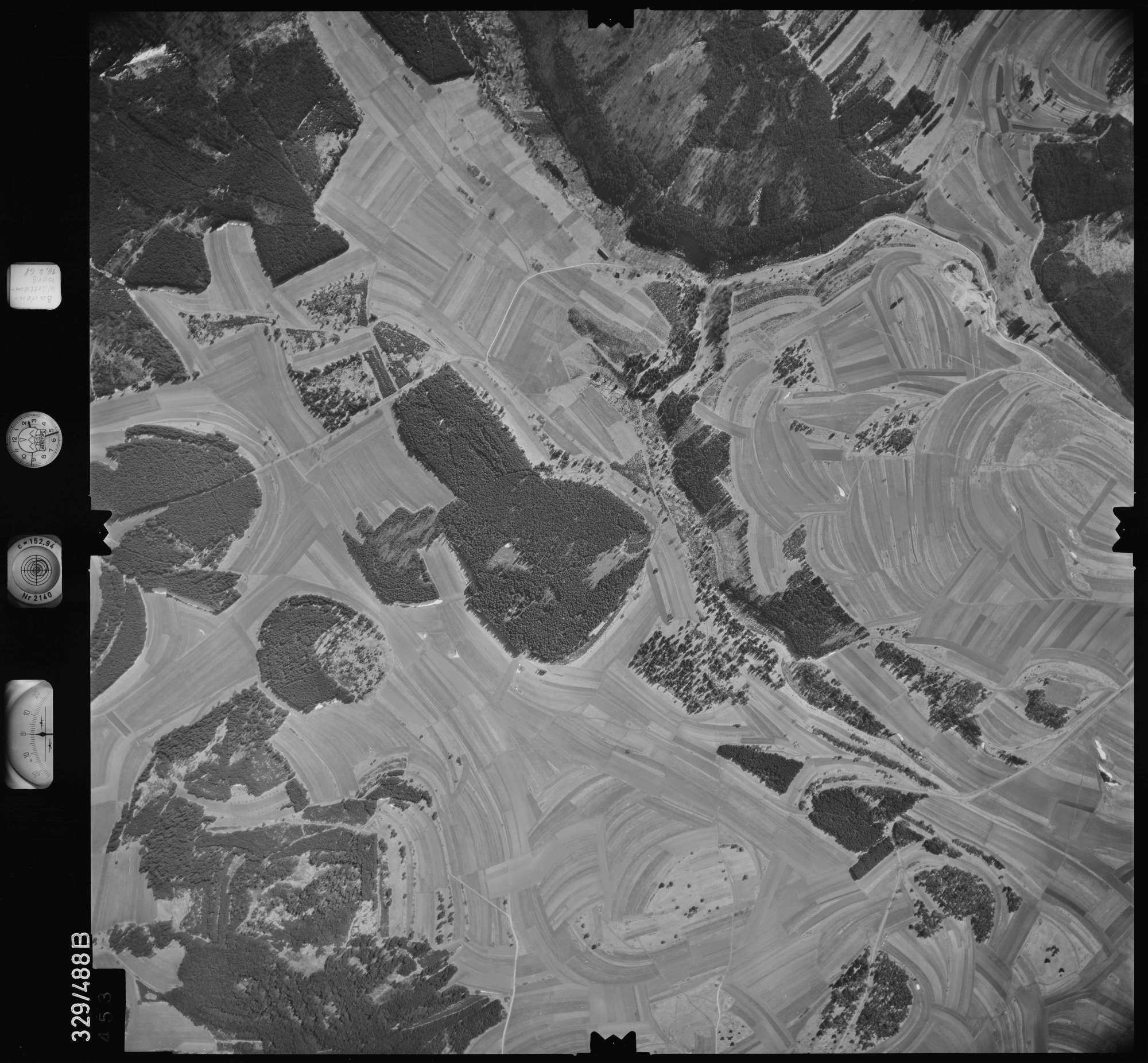 Luftbild: Film 89 Bildnr. 453, Bild 1