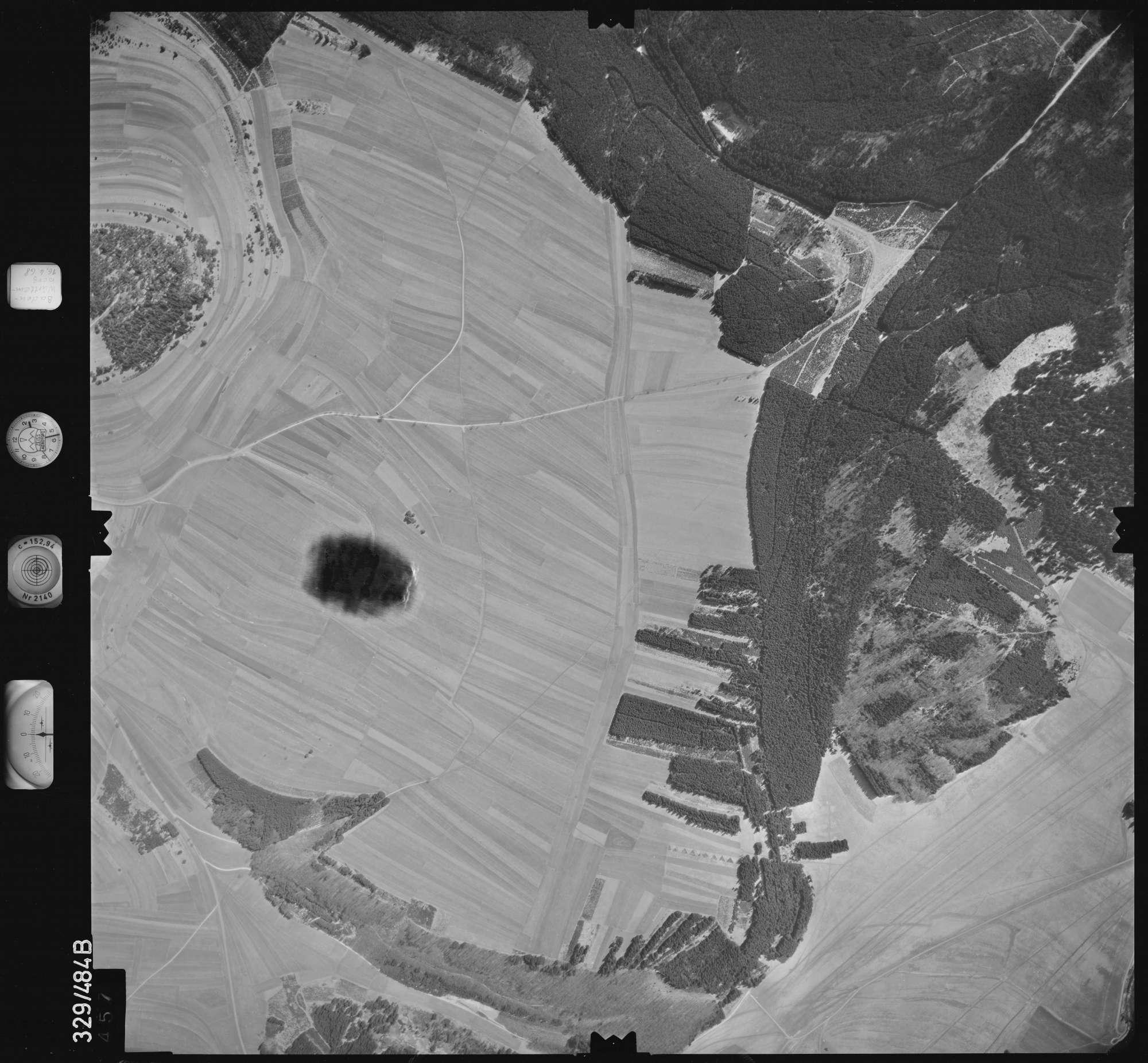 Luftbild: Film 89 Bildnr. 457, Bild 1