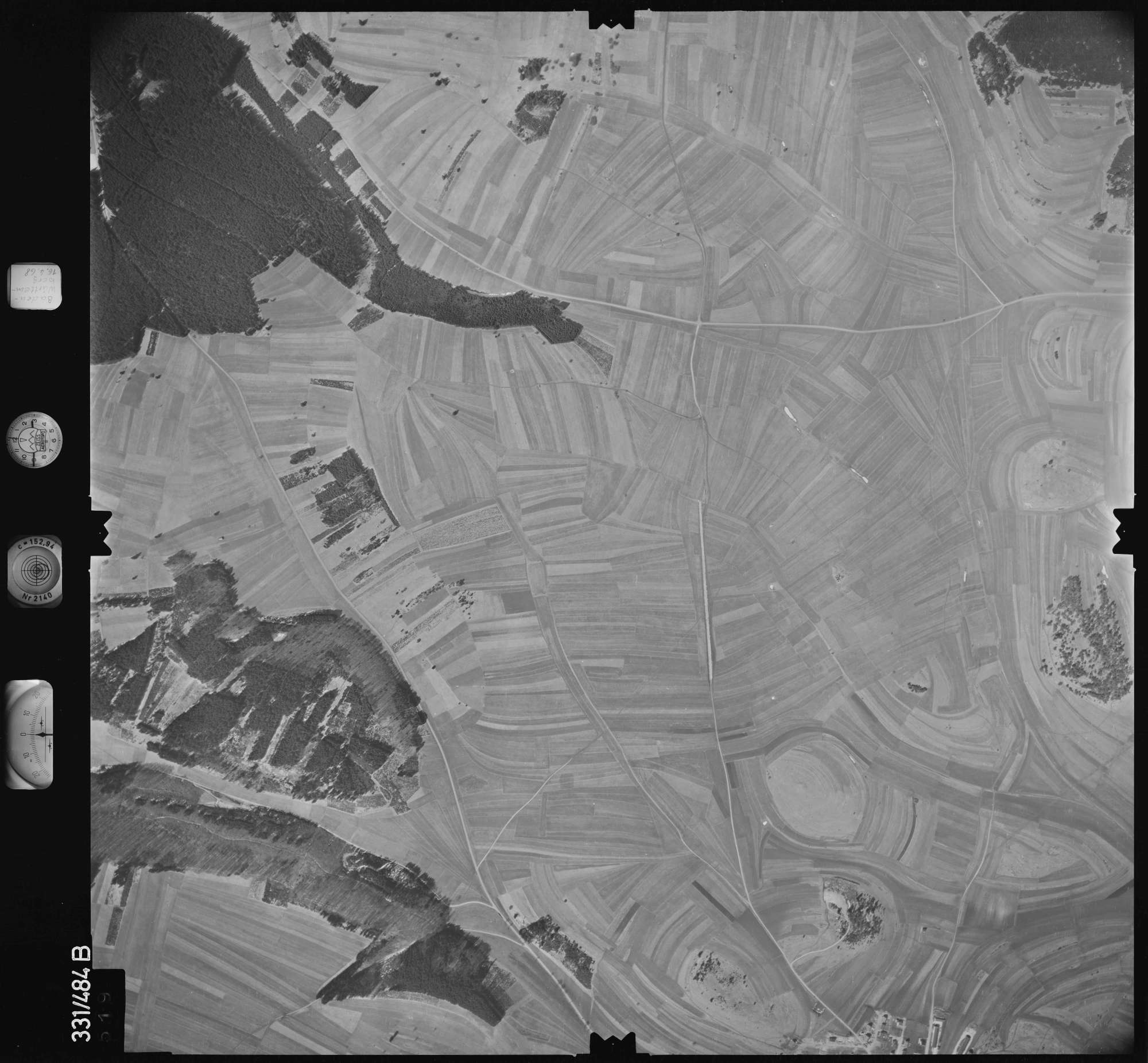 Luftbild: Film 89 Bildnr. 519, Bild 1