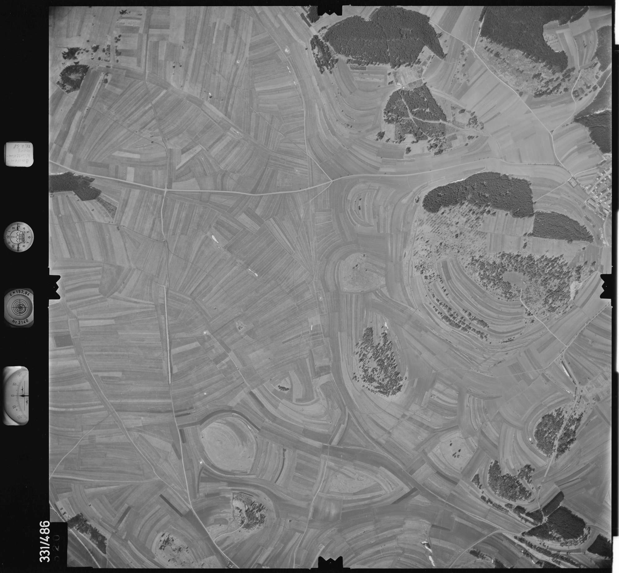 Luftbild: Film 89 Bildnr. 520, Bild 1