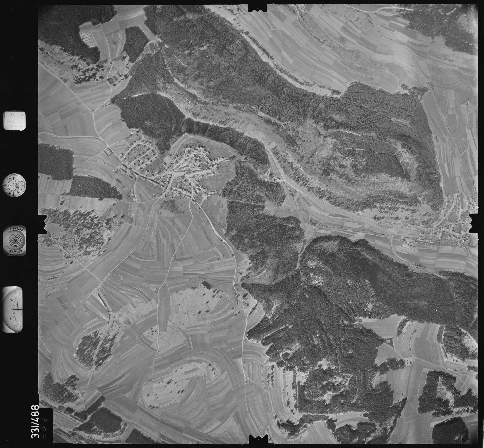 Luftbild: Film 89 Bildnr. 522, Bild 1