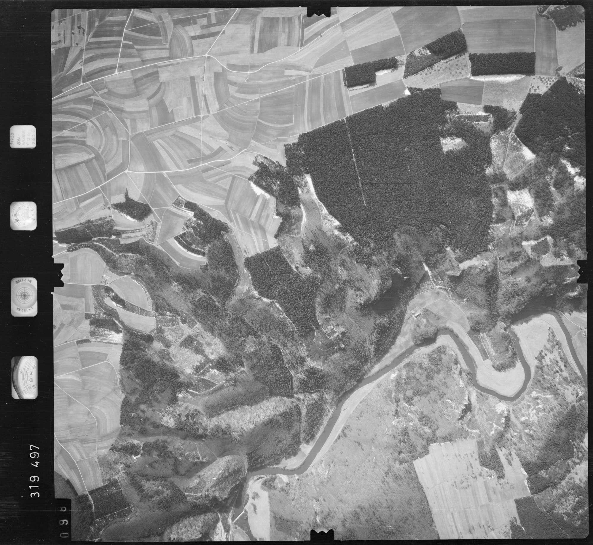 Luftbild: Film 57 Bildnr. 98, Bild 1