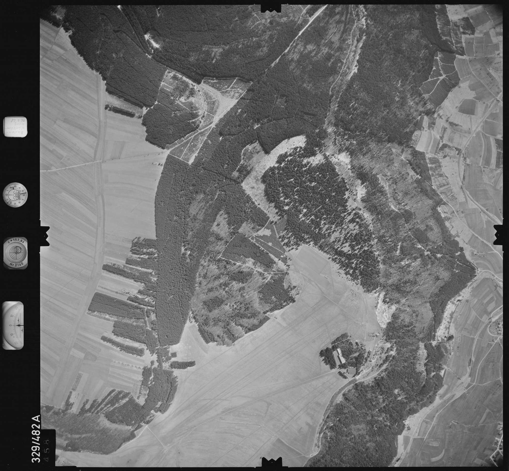 Luftbild: Film 89 Bildnr. 458, Bild 1