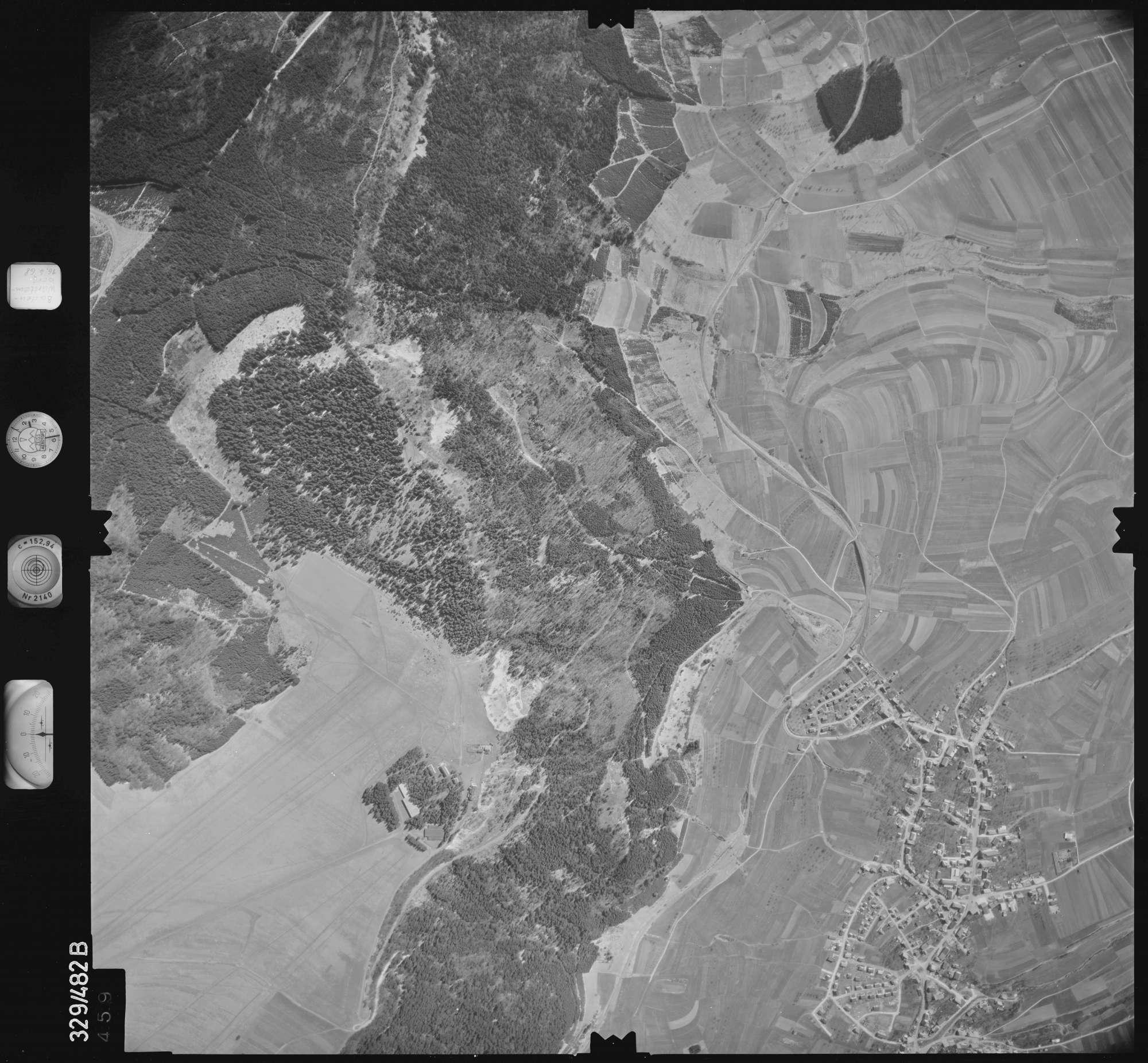 Luftbild: Film 89 Bildnr. 459, Bild 1